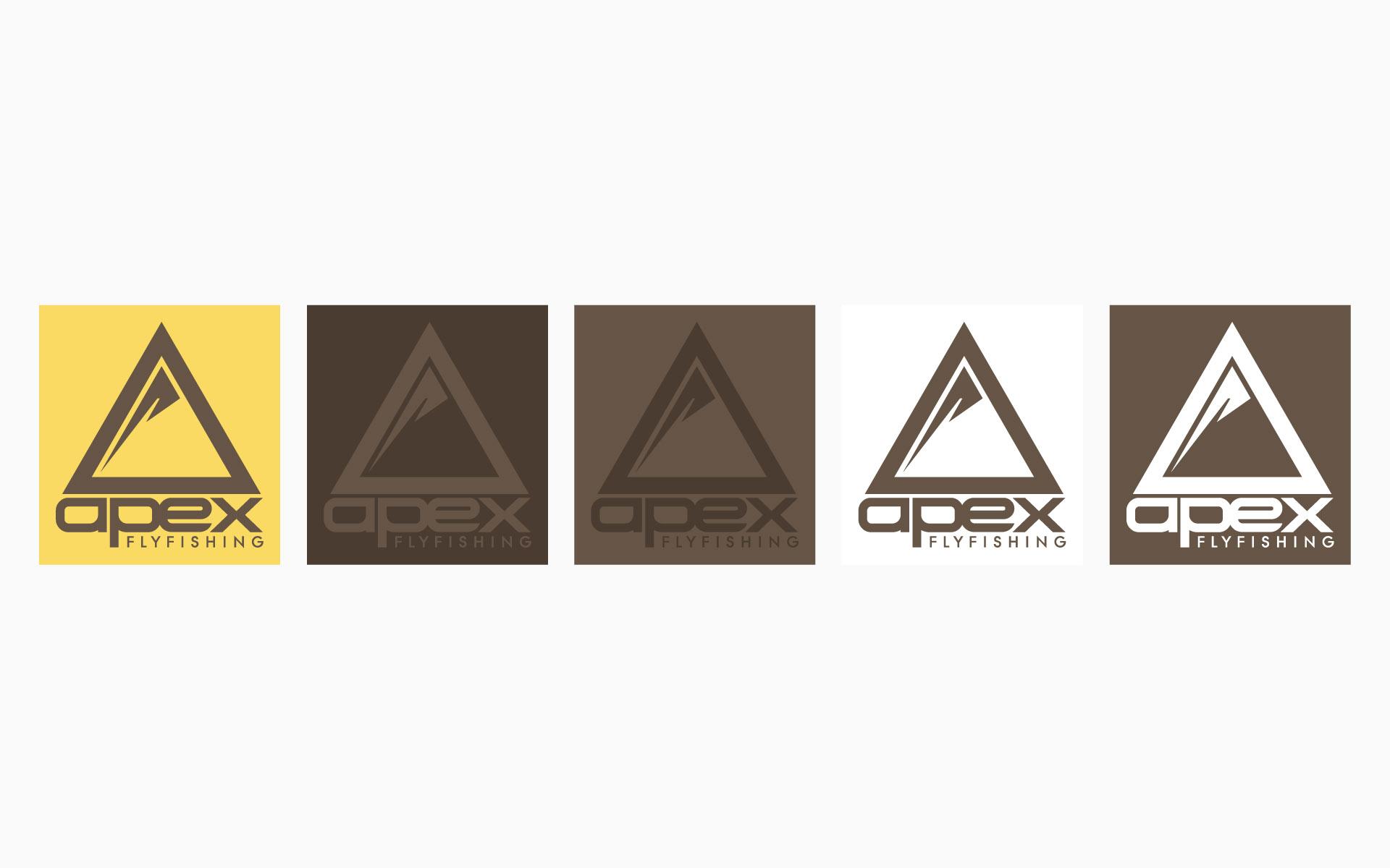 Apex Flyfishing Brand Identity