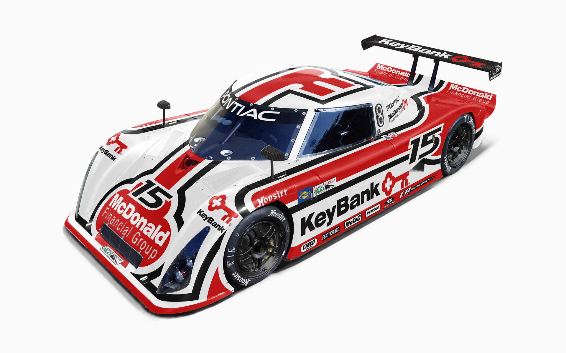 CB Motorsports Keybank Pontiac Riley MKXI Daytona Prototype Visualization