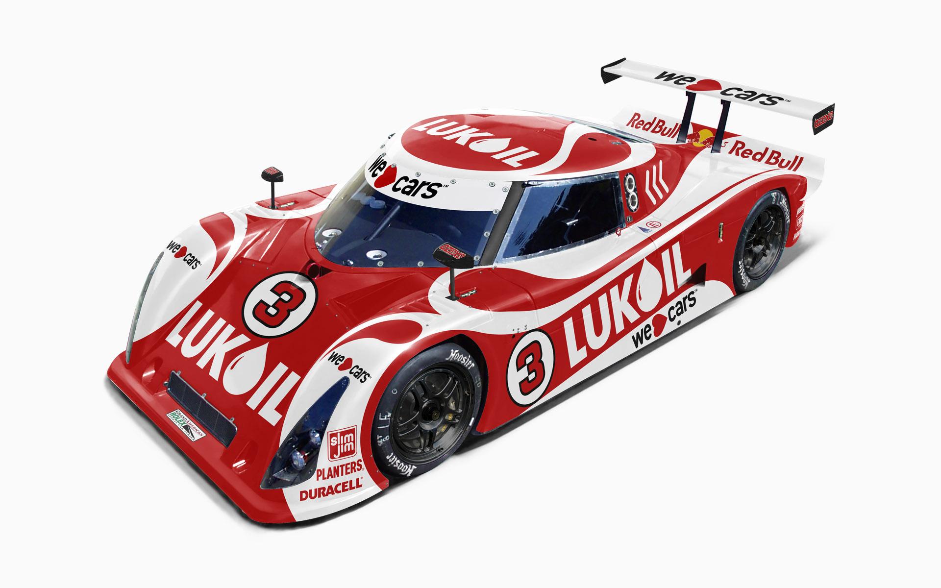 Cegwa Sport Lukoil Riley MKXI Daytona Prototype Livery Visualization