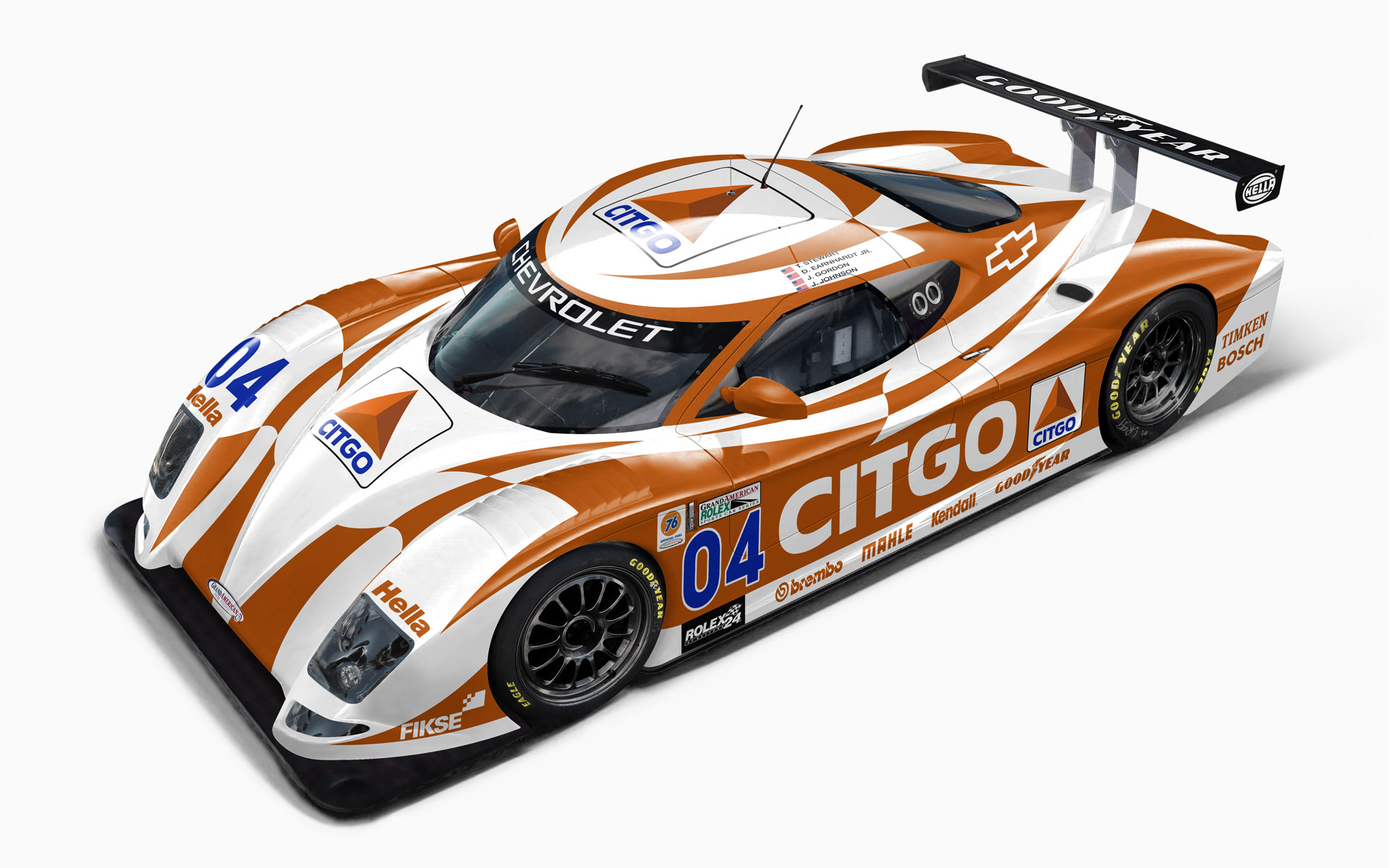2005 Citgo Racing Chevy Crawford Daytona Prototype Livery Visualization
