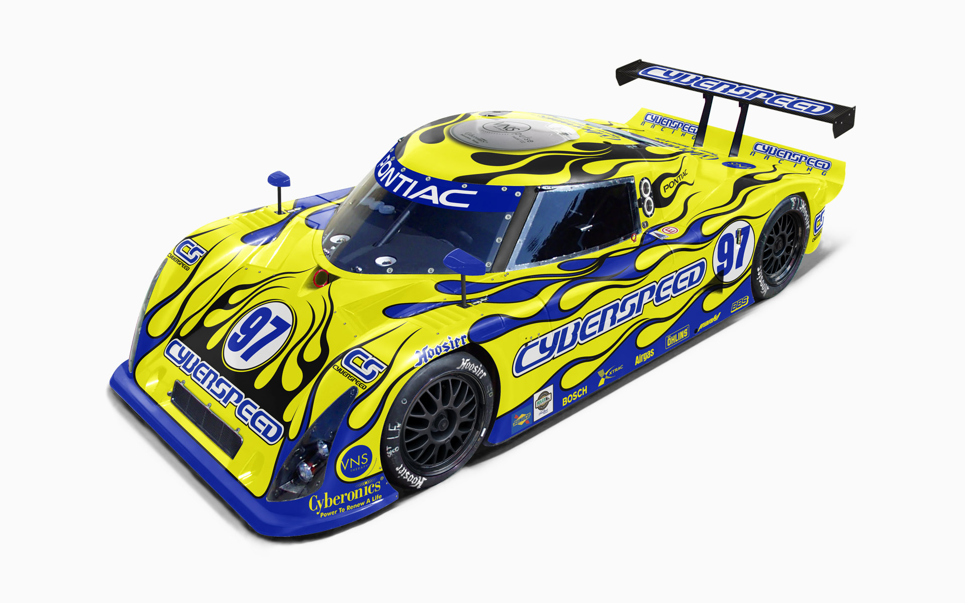 Cyberspeed Racing Riley MKXI Daytona Prototype Livery Visualization