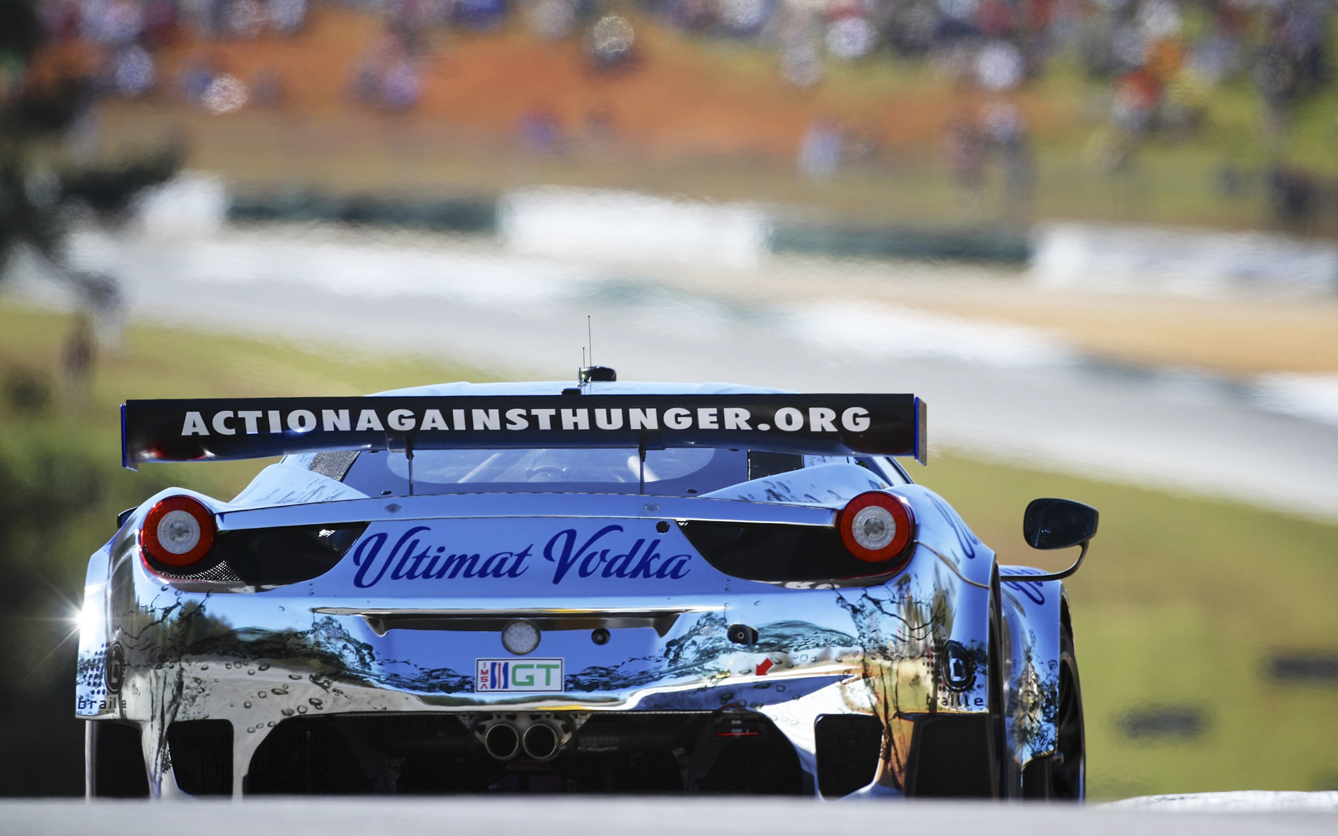 Extreme Speed Motorsports Ultimat Vodka Ferrari 458 GT Livery
