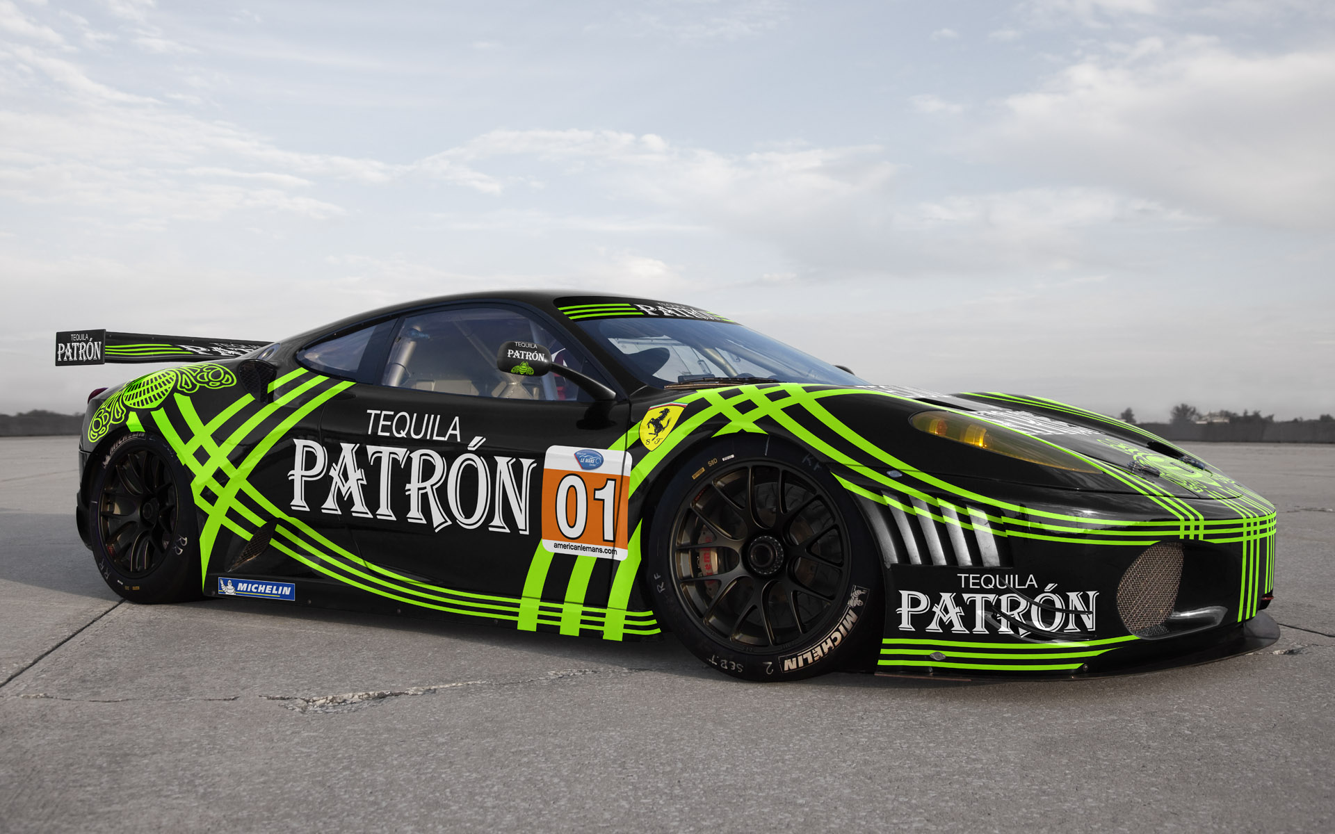 2010 Extreme Speed Motorsports Pu00e1tron Ferrari 430 GT Livery