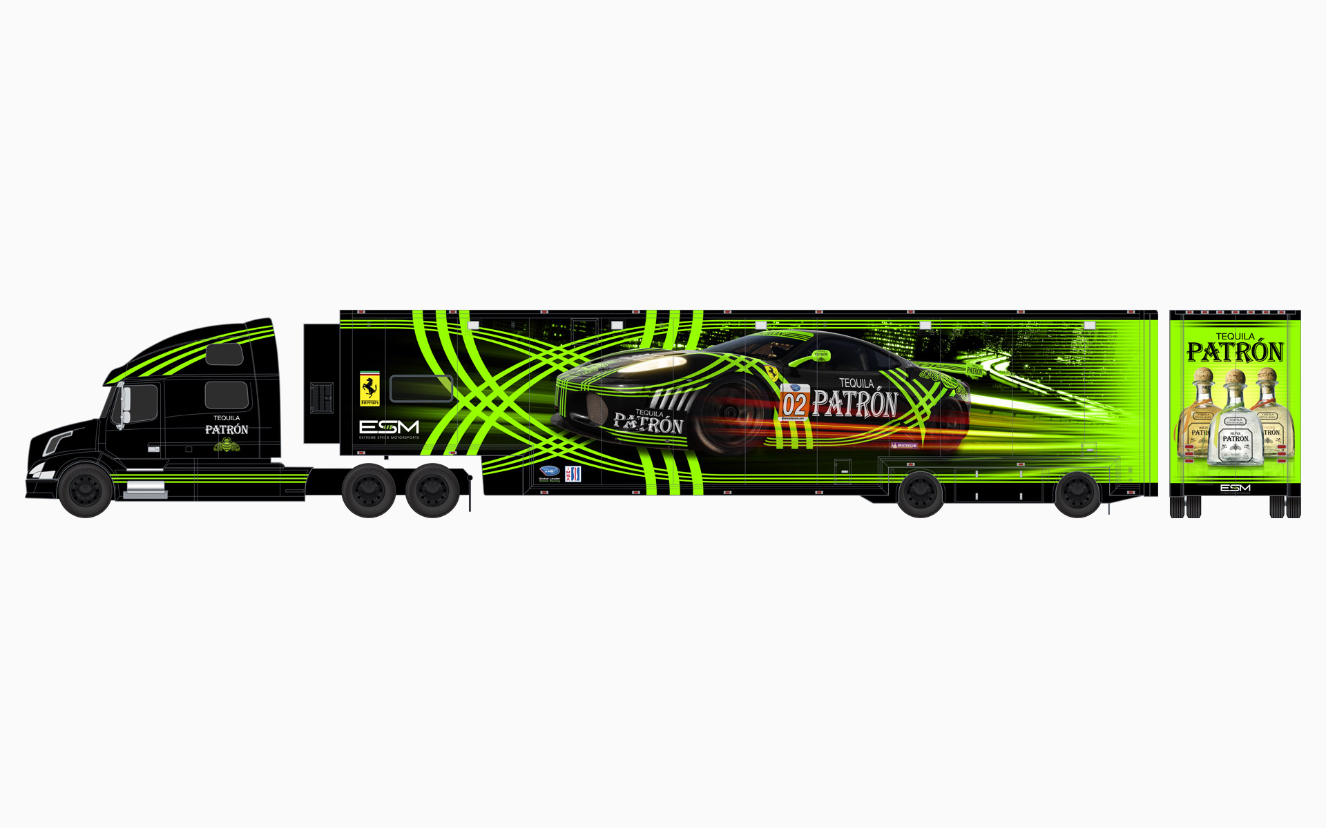 2010 Extreme Speed Motorsports Pu00e1tron Transporter