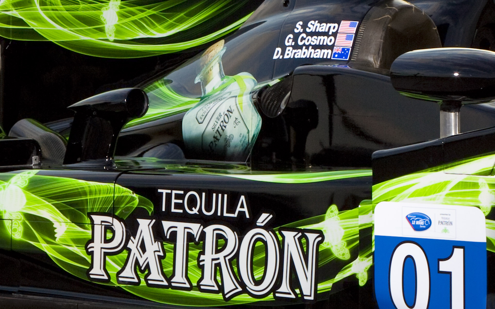 2013 Extreme Speed Motorsports Pátron HPD ARX-03b LMP2 Livery Detail