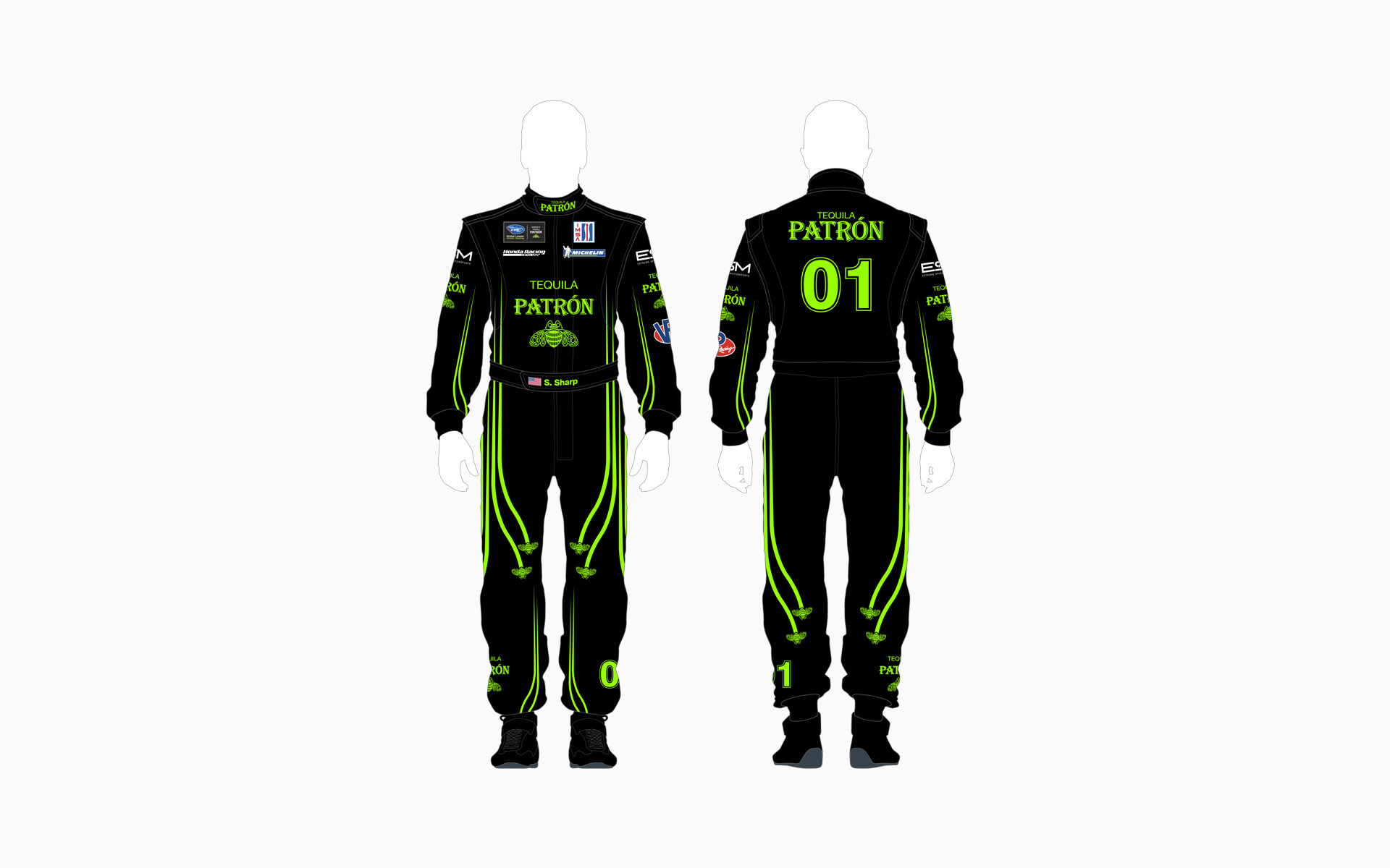 2013 Extreme Speed Motorsports Pátron Firesuit