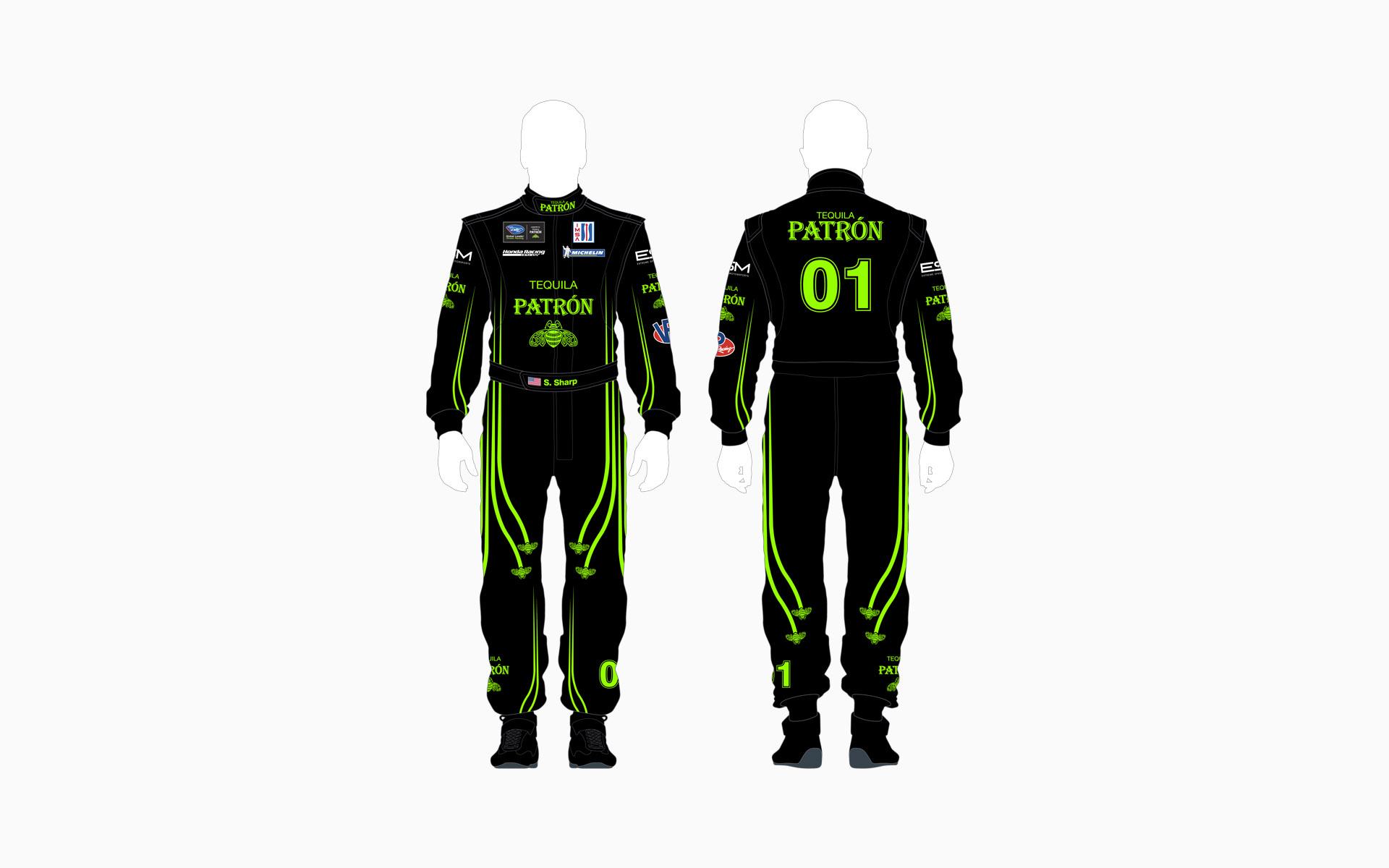 2013 Extreme Speed Motorsports Pátron Firesuit