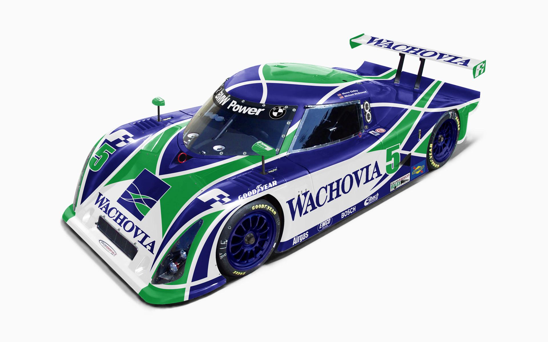 Finlay Motorsports Wachovia Riley MKXI Livery Visualization