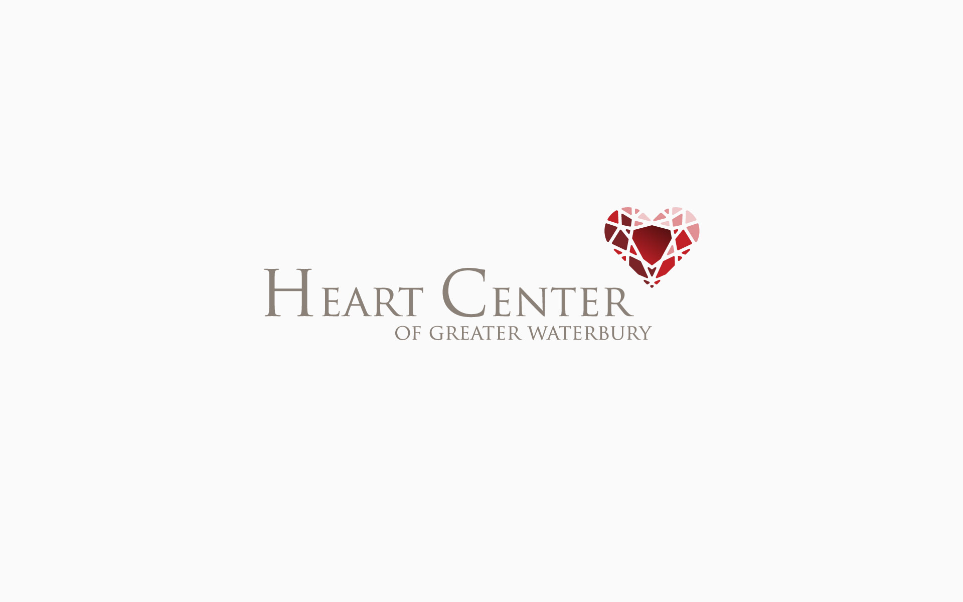 Heart Center of Greater Waterbury Brand Identity