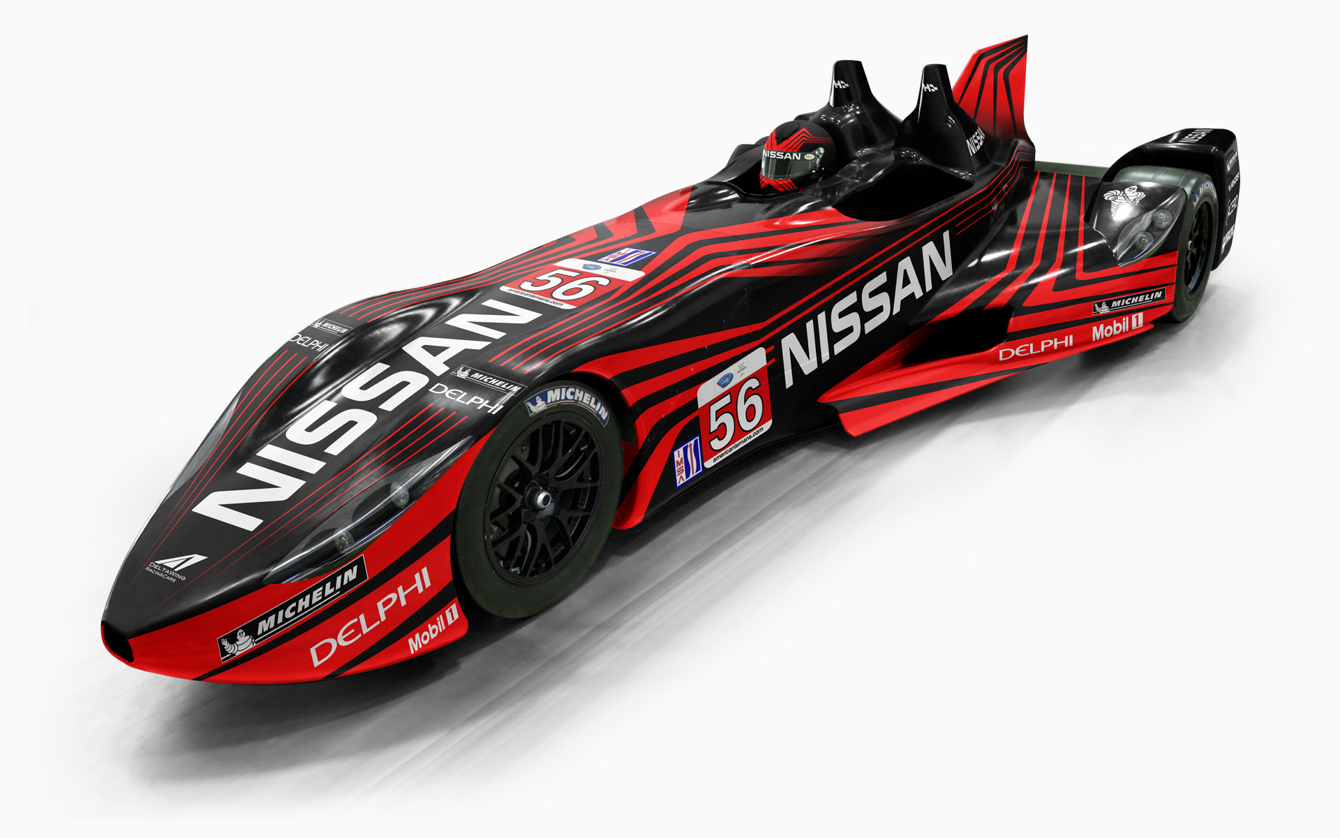 Highcroft Racing Nissan DeltaWing P56 LMP1 Livery Visualization