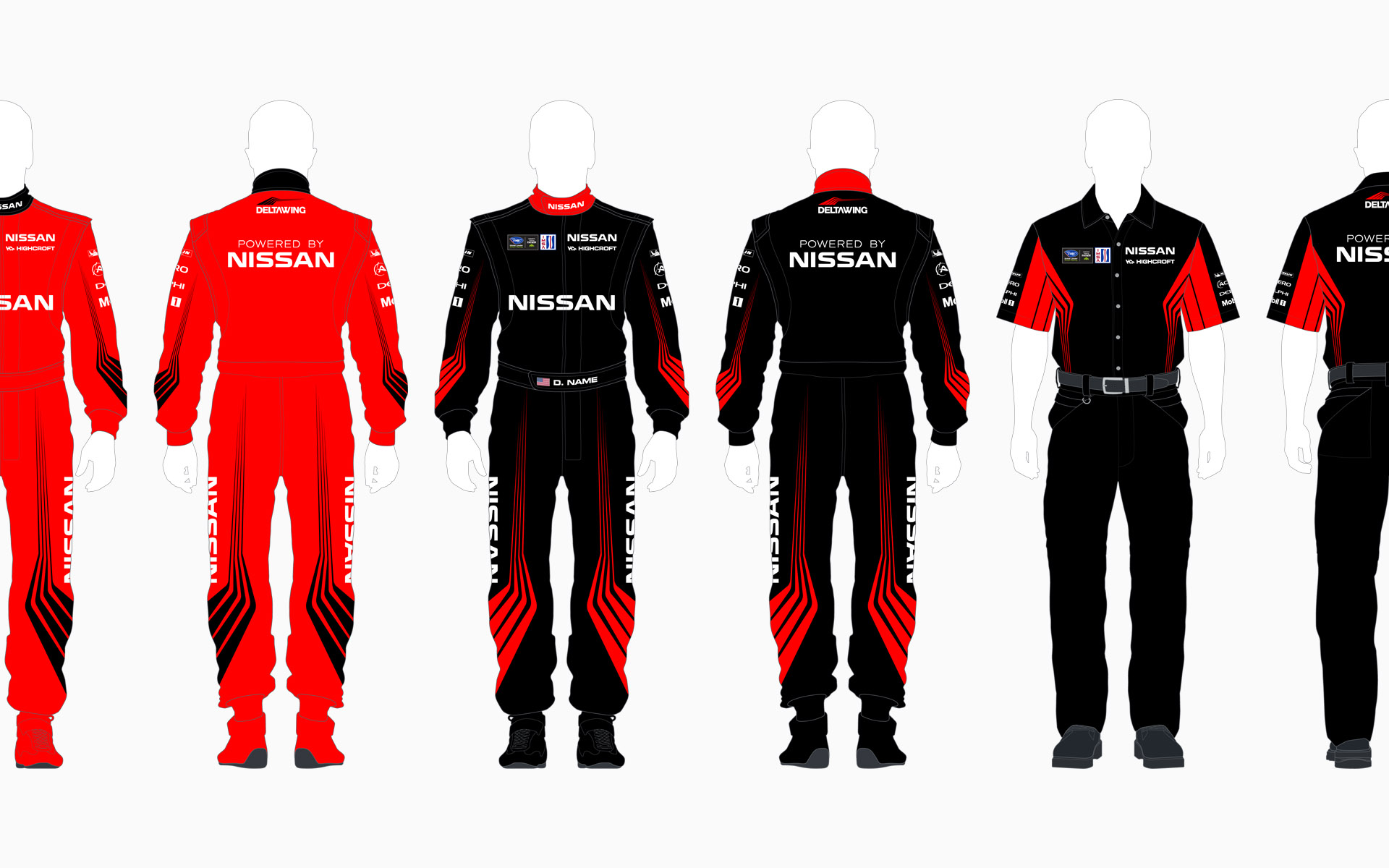 Highcroft Racing Nissan Crew Shirt and Firesuit