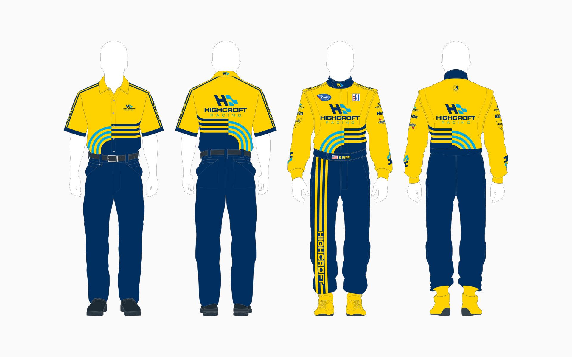 2006 Highcroft Racing Crew Shirt and Firesuit