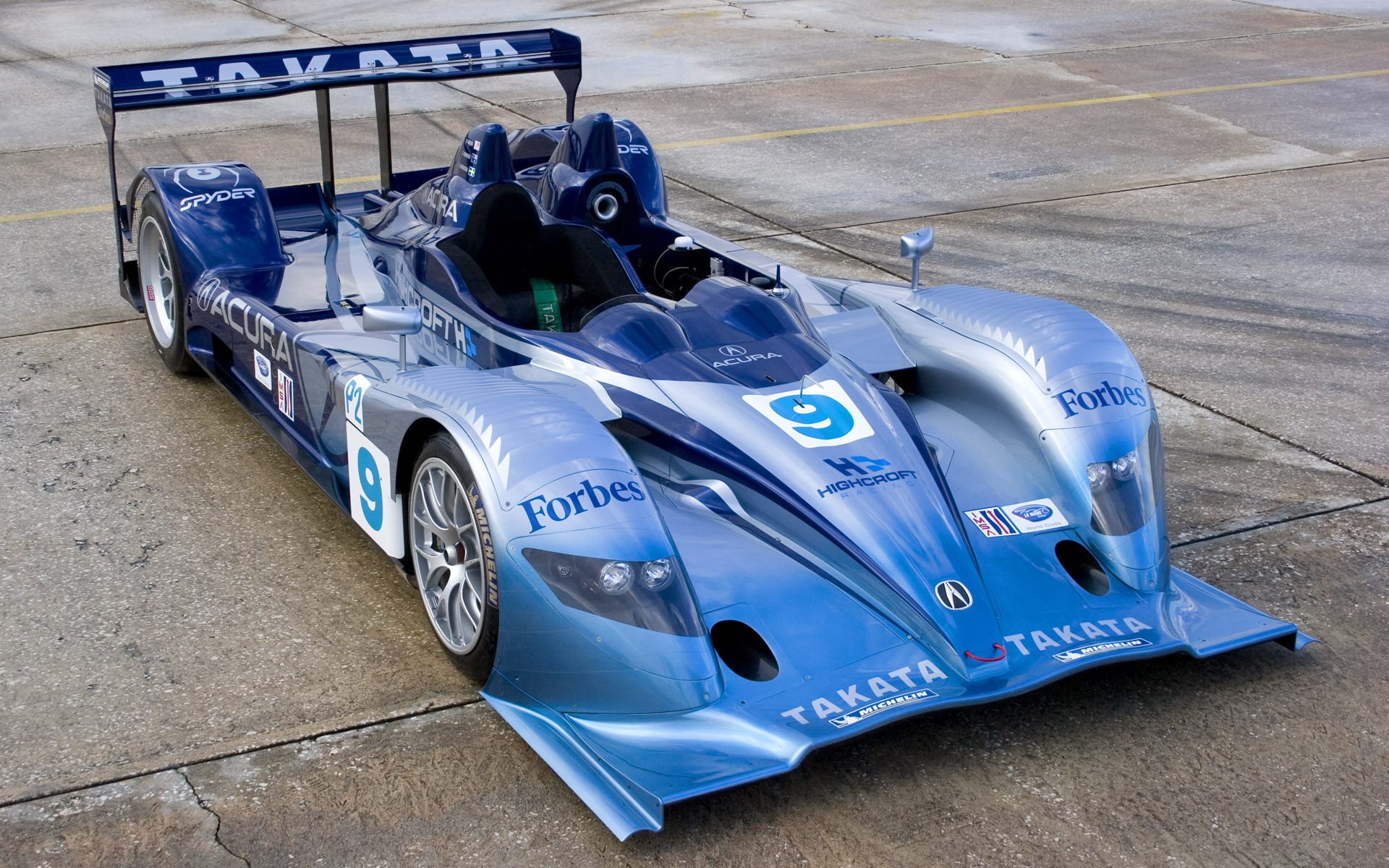 2007 Highcroft Racing Acura ARX-01a LMP2 Livery