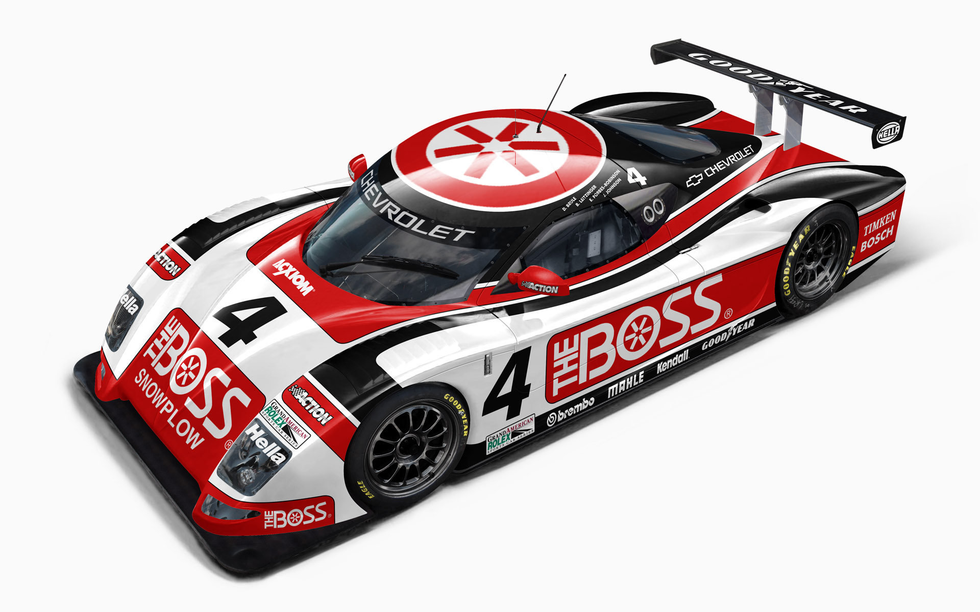 Howard Boss Motorsports Boss Snowplow Chevy Crawford Daytona Prototype Livery Visualization