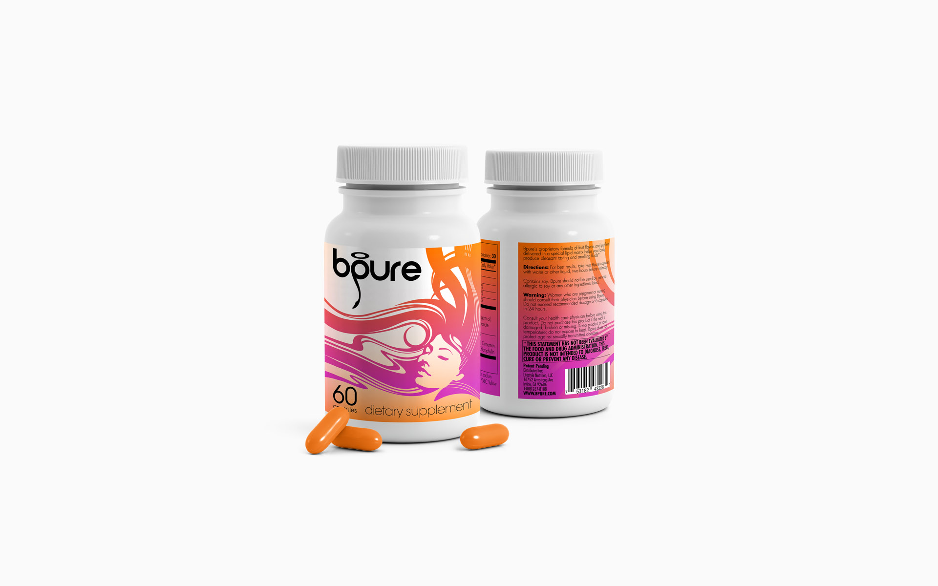 Lifestyle Nutrition bPure Labeling Visualization