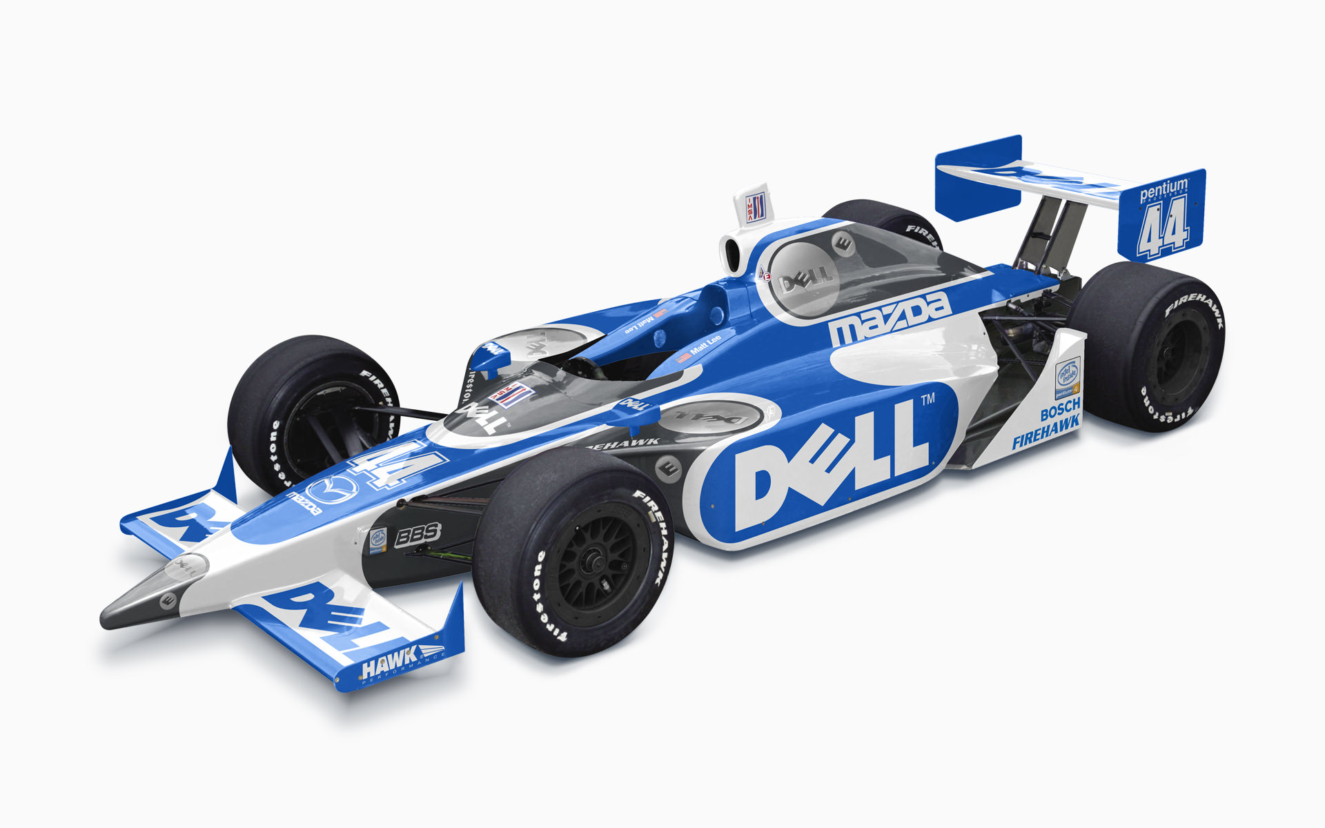 Matt Lee Motorsports Dell Dallara Mazda IndyCar Livery Visualization