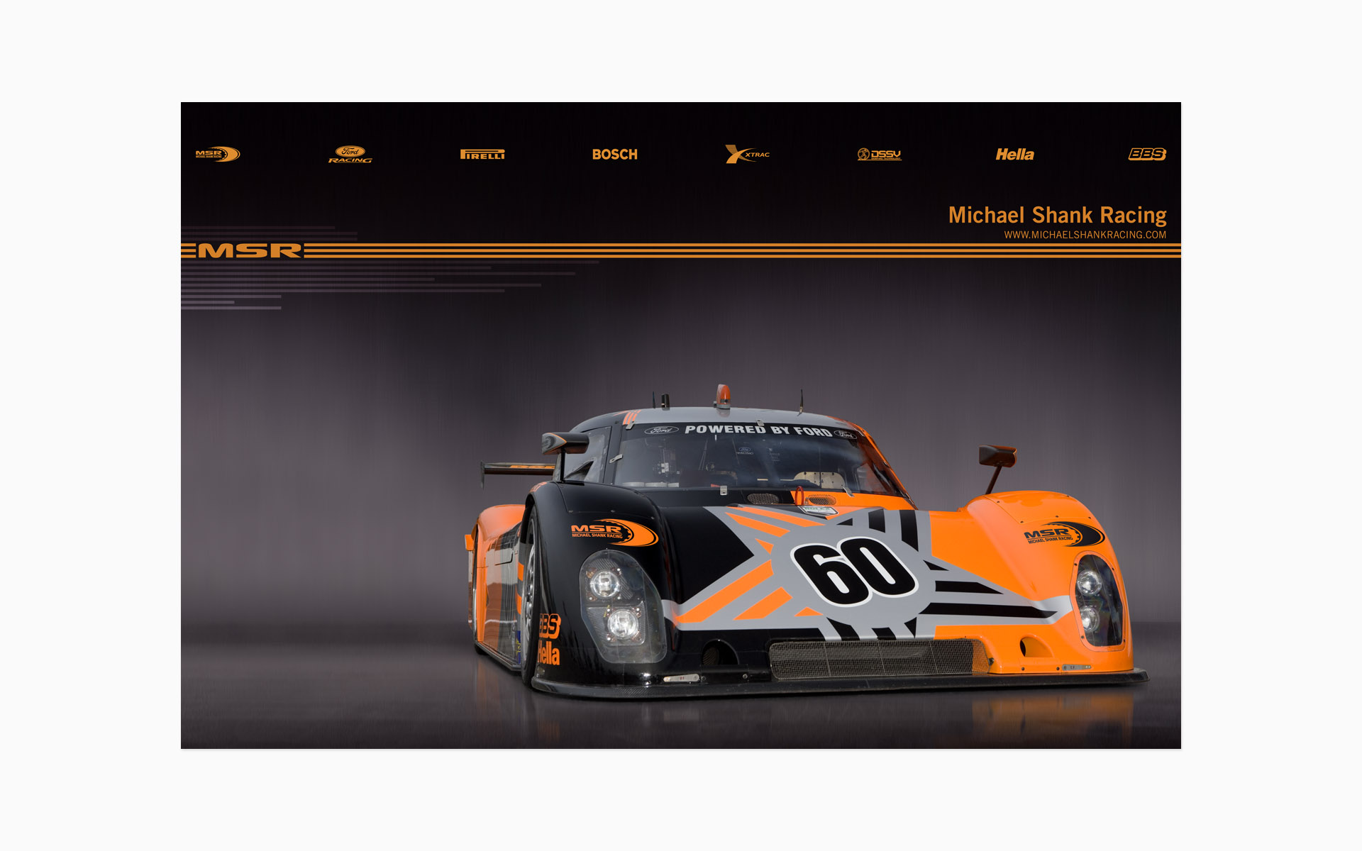 2006 Michael Shank Racing Poster