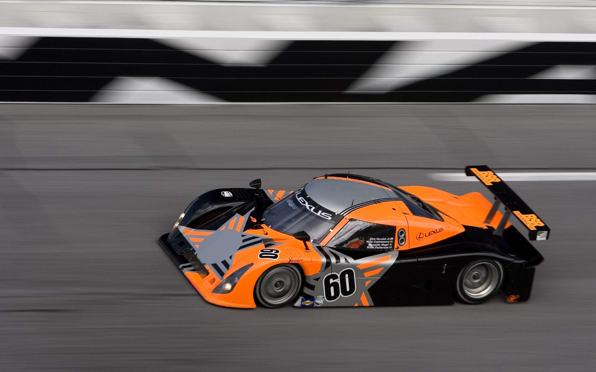 2006 Michael Shank Racing Riley MKXI Daytona Prototype Livery