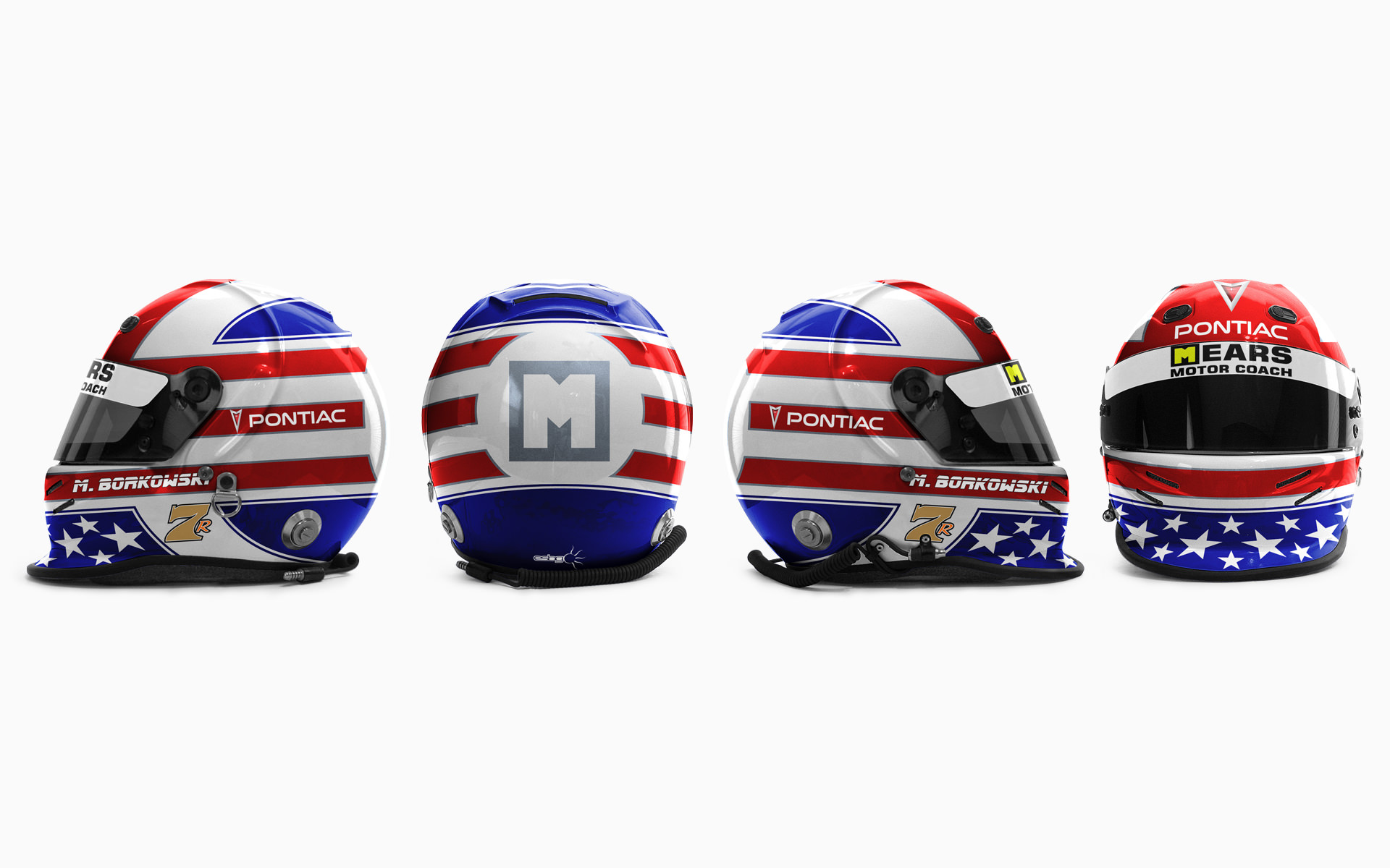 Mike Borkowski Helmet Livery Visualization