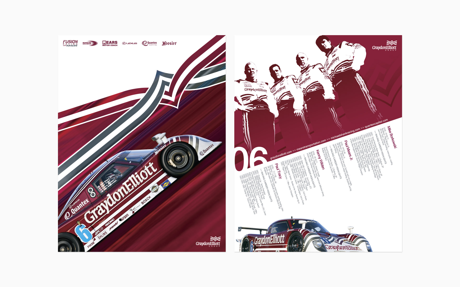 Michael Shank Racing Graydon Elliott Hero Card