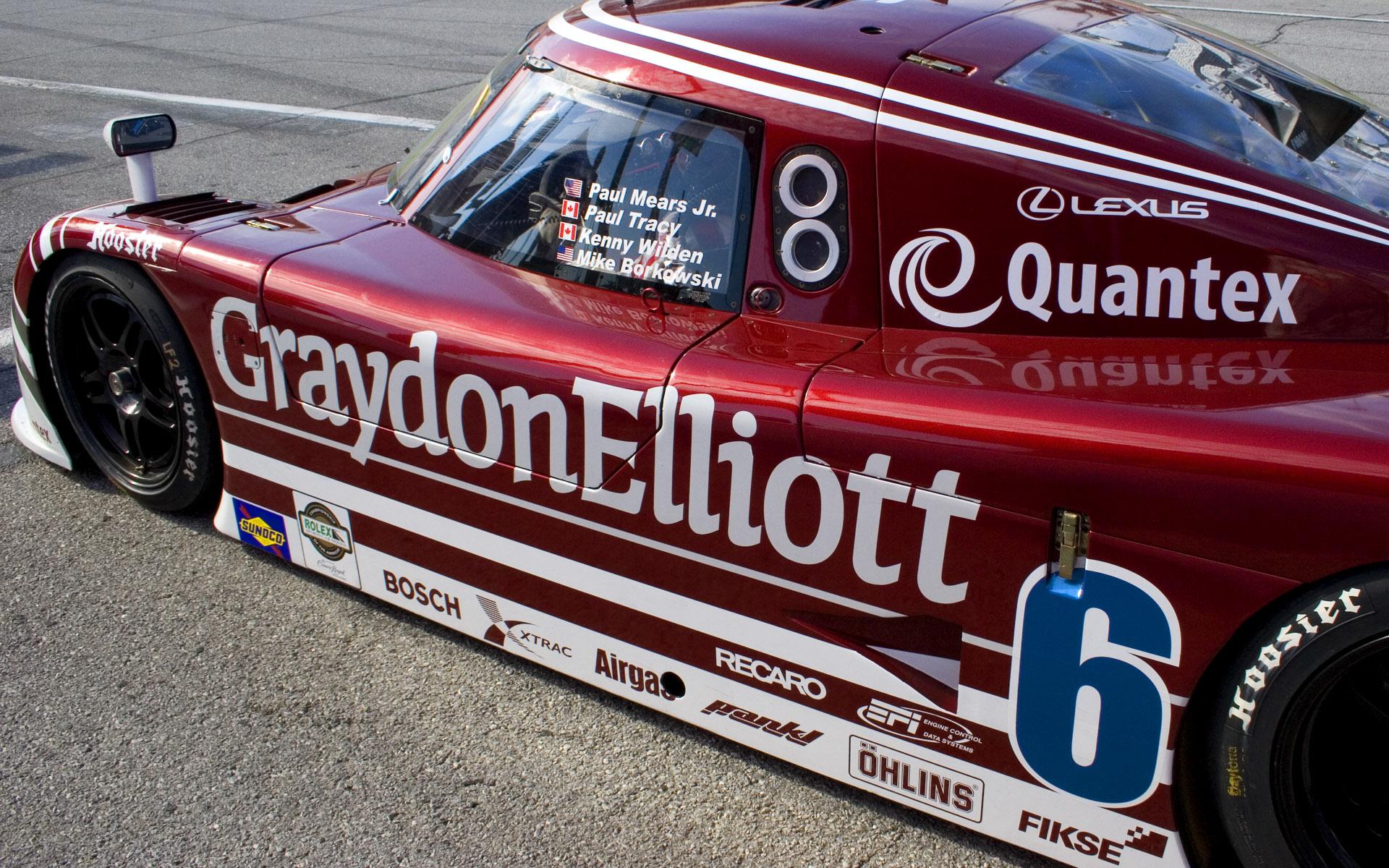 Michael Shank Racing Graydon Elliott Riley MKXI Daytona Prototype Livery