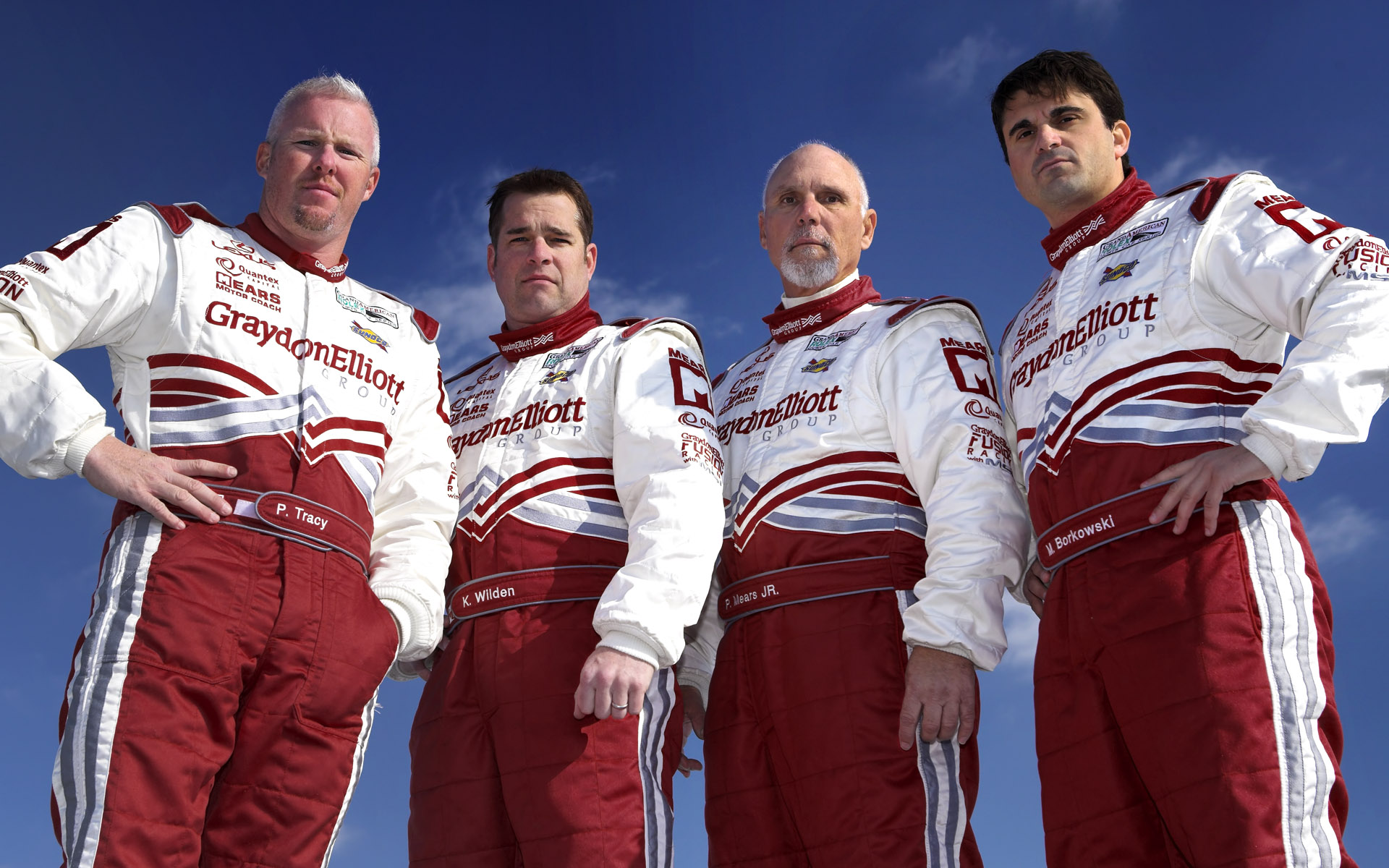 Michael Shank Racing Graydon Elliott Firesuit