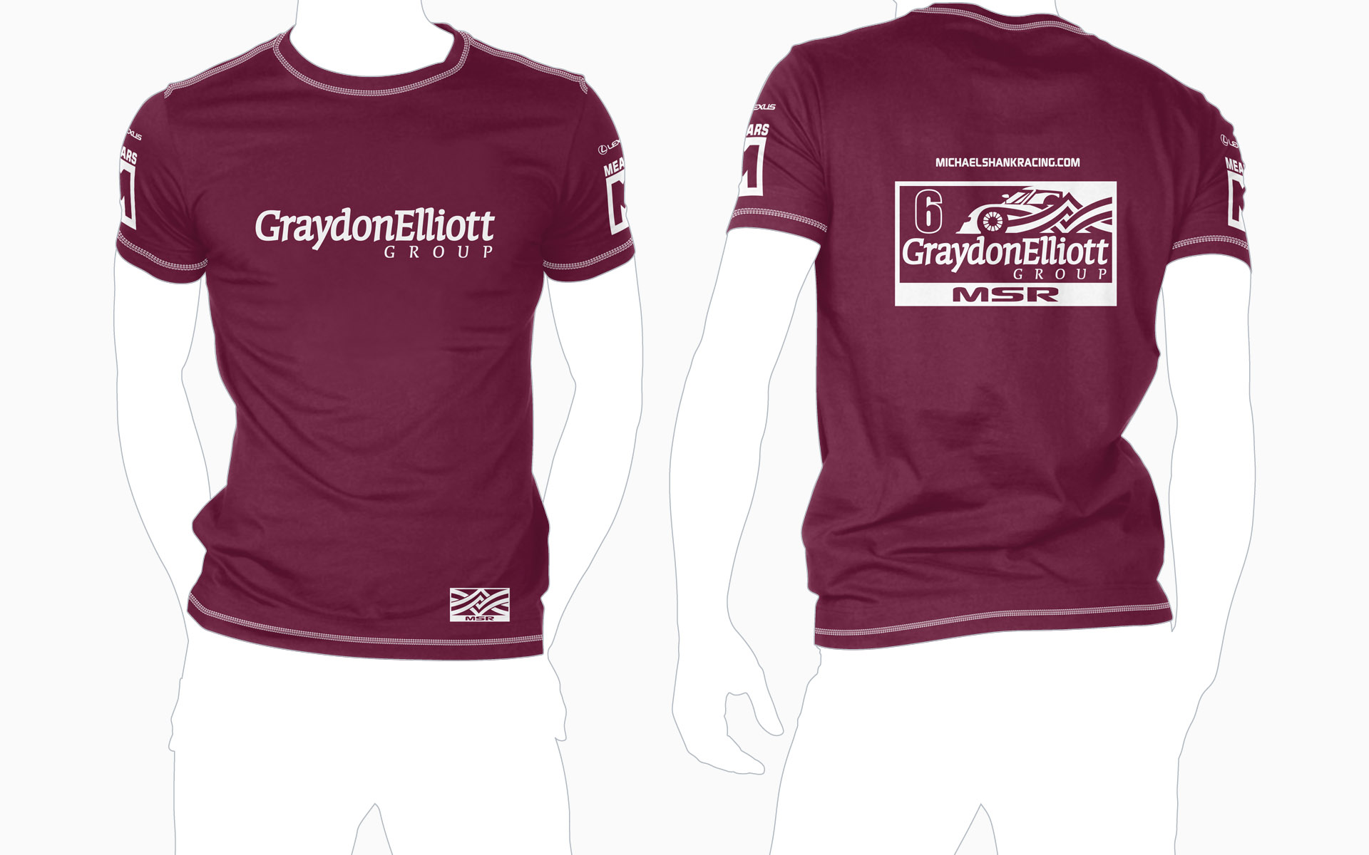 Michael Shank Racing Graydon Elliott T-Shirt