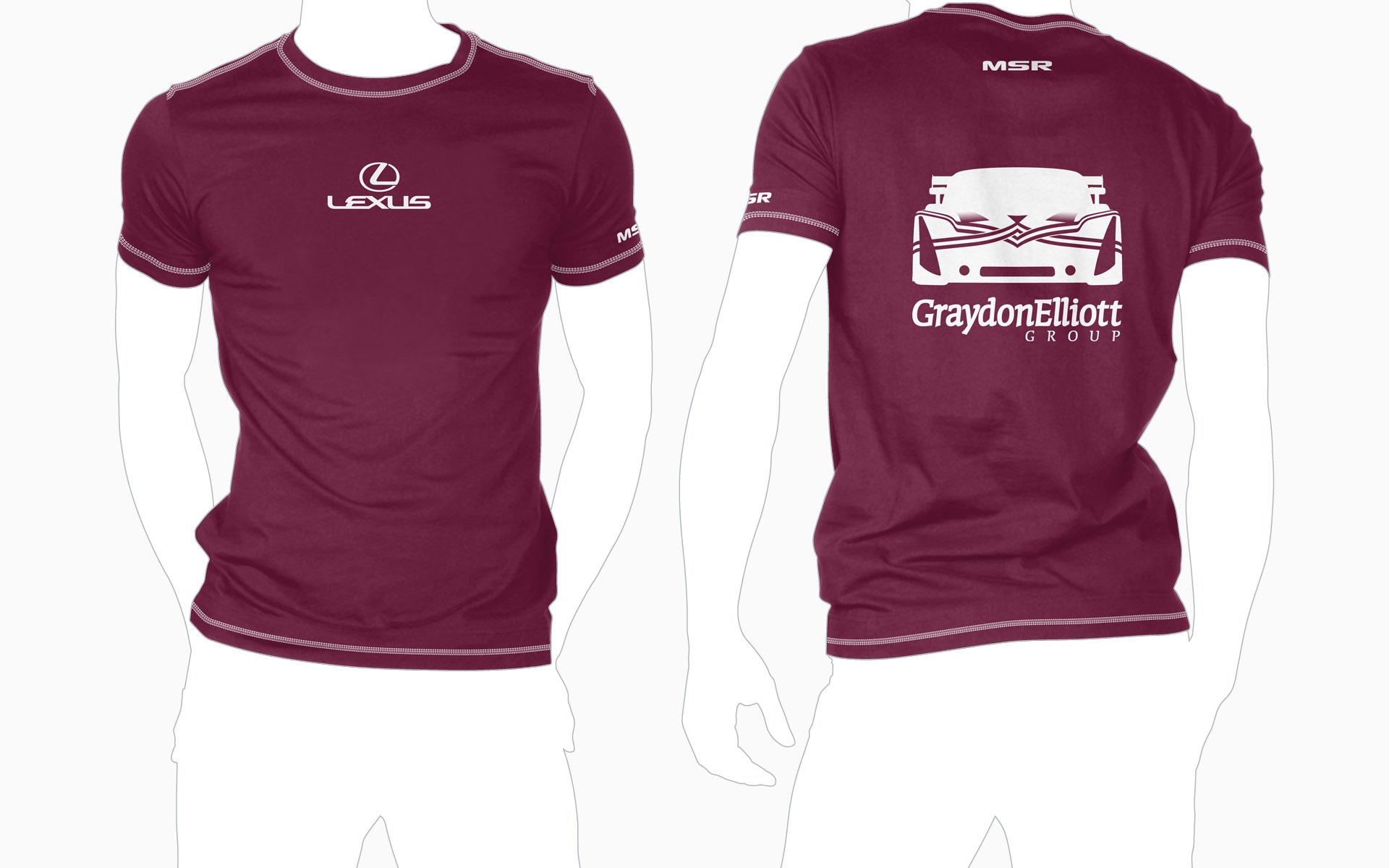 Michael Shank Racing Graydon Elliott T-Shirt