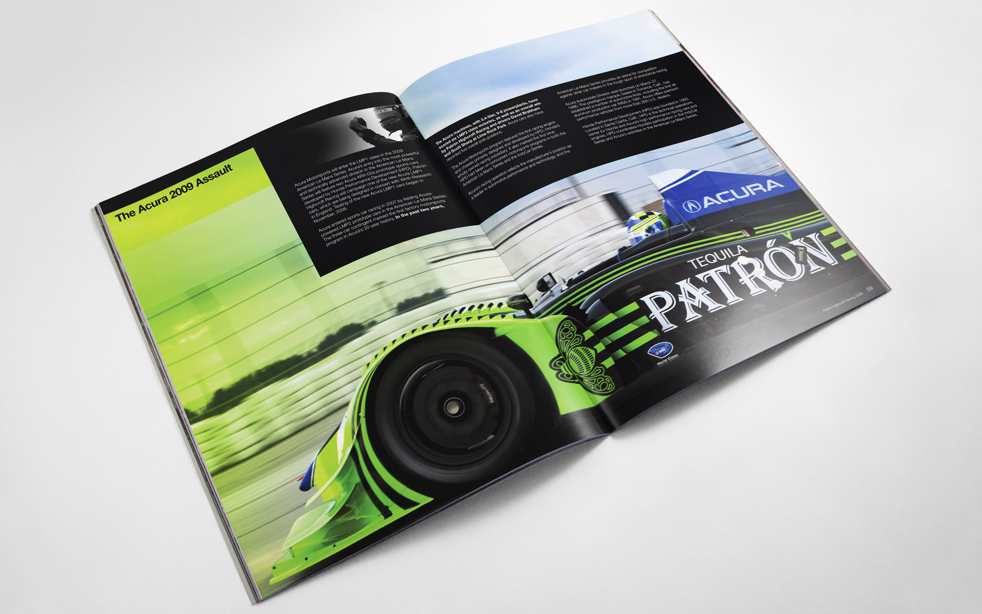 2009 Pátron Highcroft Racing Media Kit