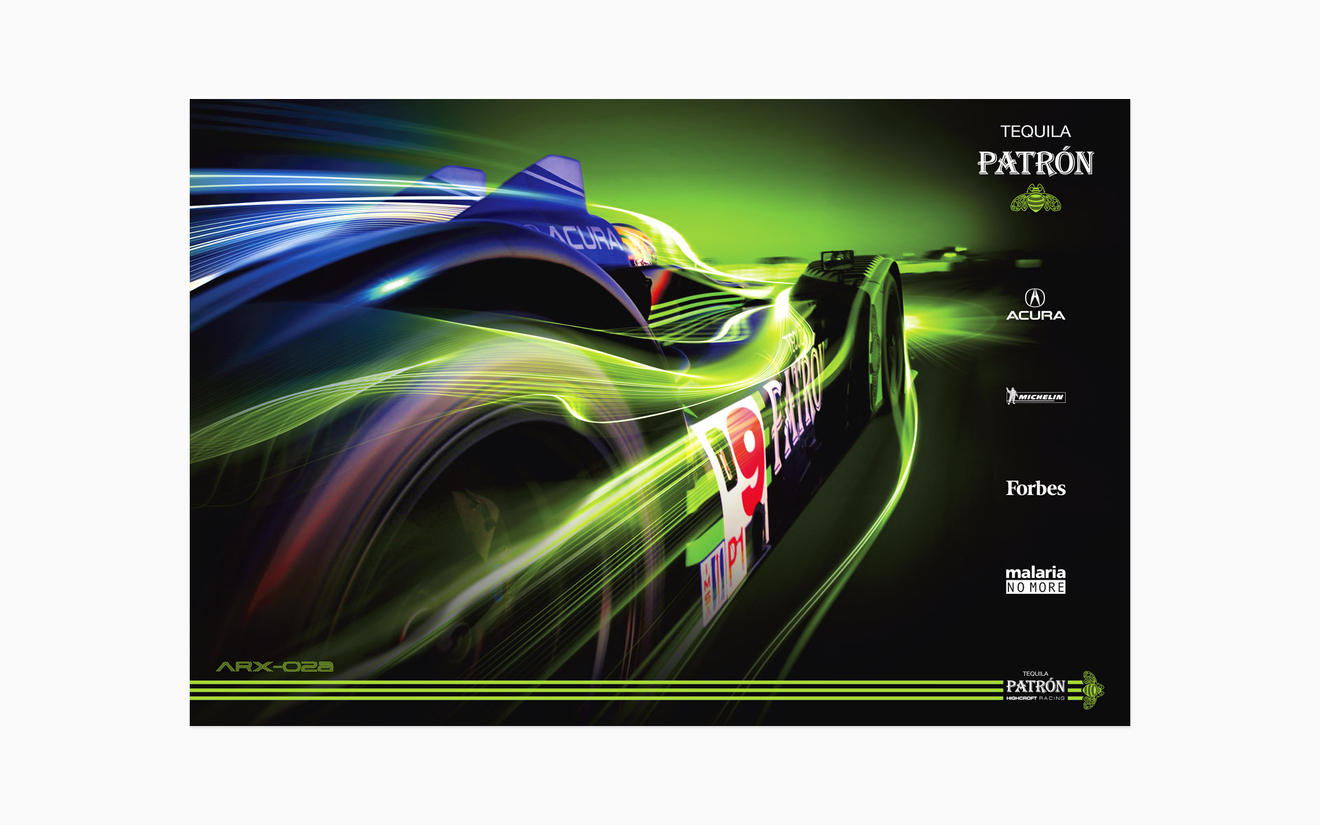 2009 Pátron Highcroft Racing Poster