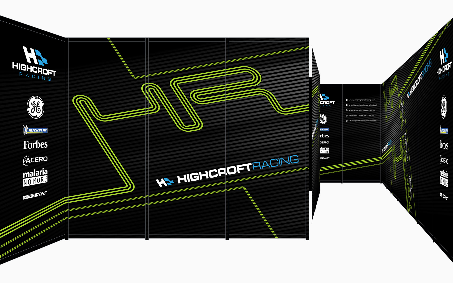 2010 Pátron Highcroft Racing Environment Graphics