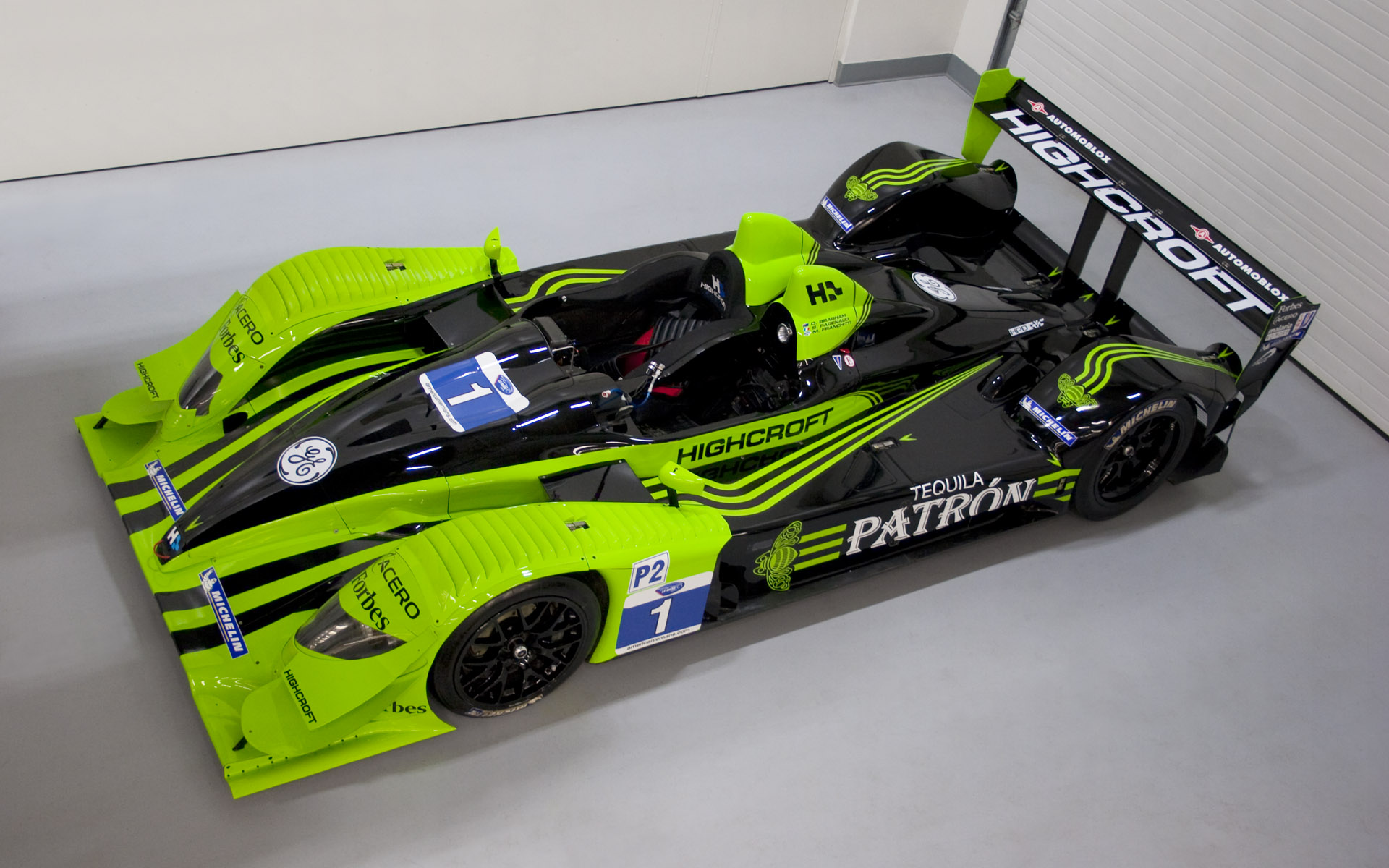 2010 Pátron Highcroft Racing HPD ARX-01c LMP2 Livery