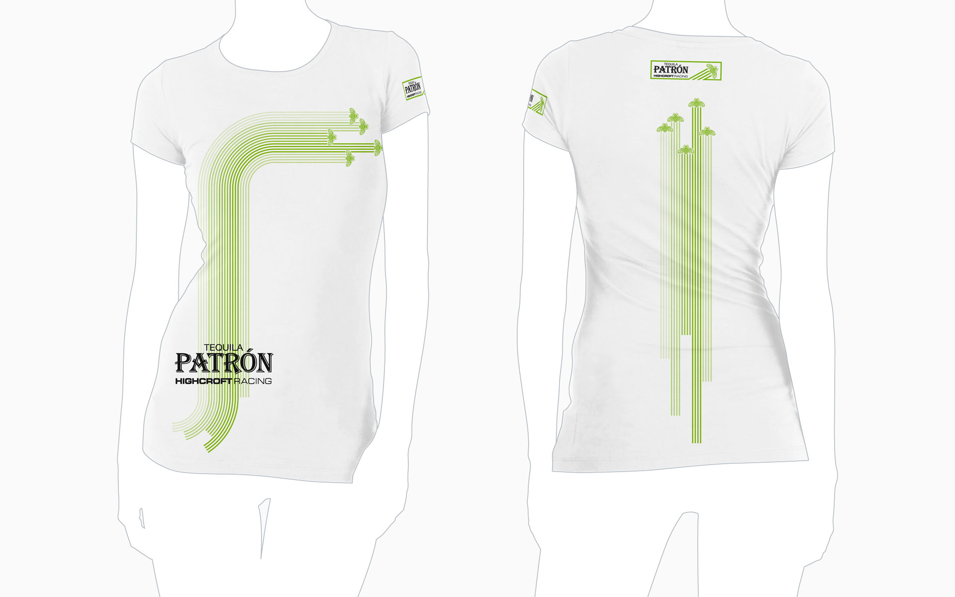 2010 Pátron Highcroft Racing T-Shirt