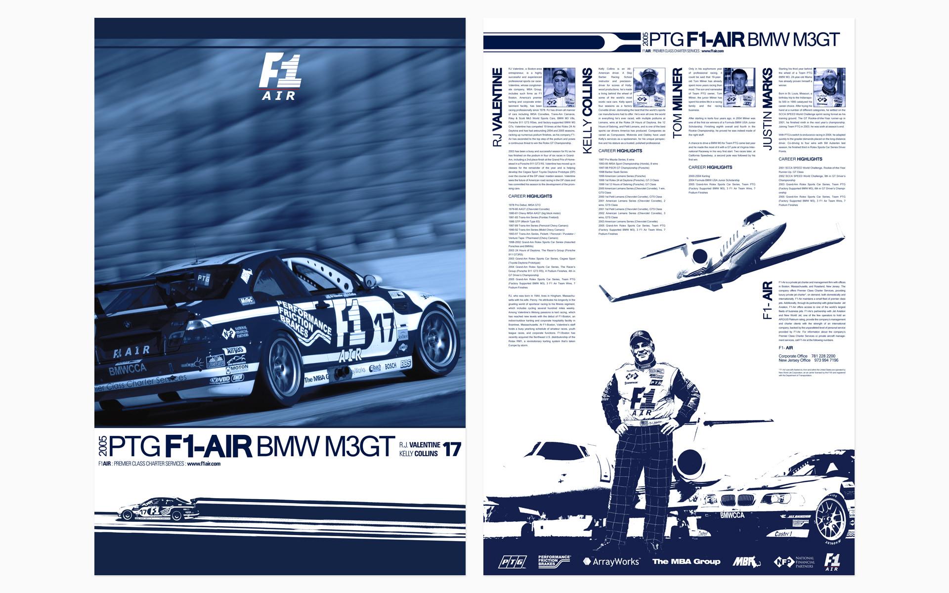 2005 PTG Racing F1-Air Poster