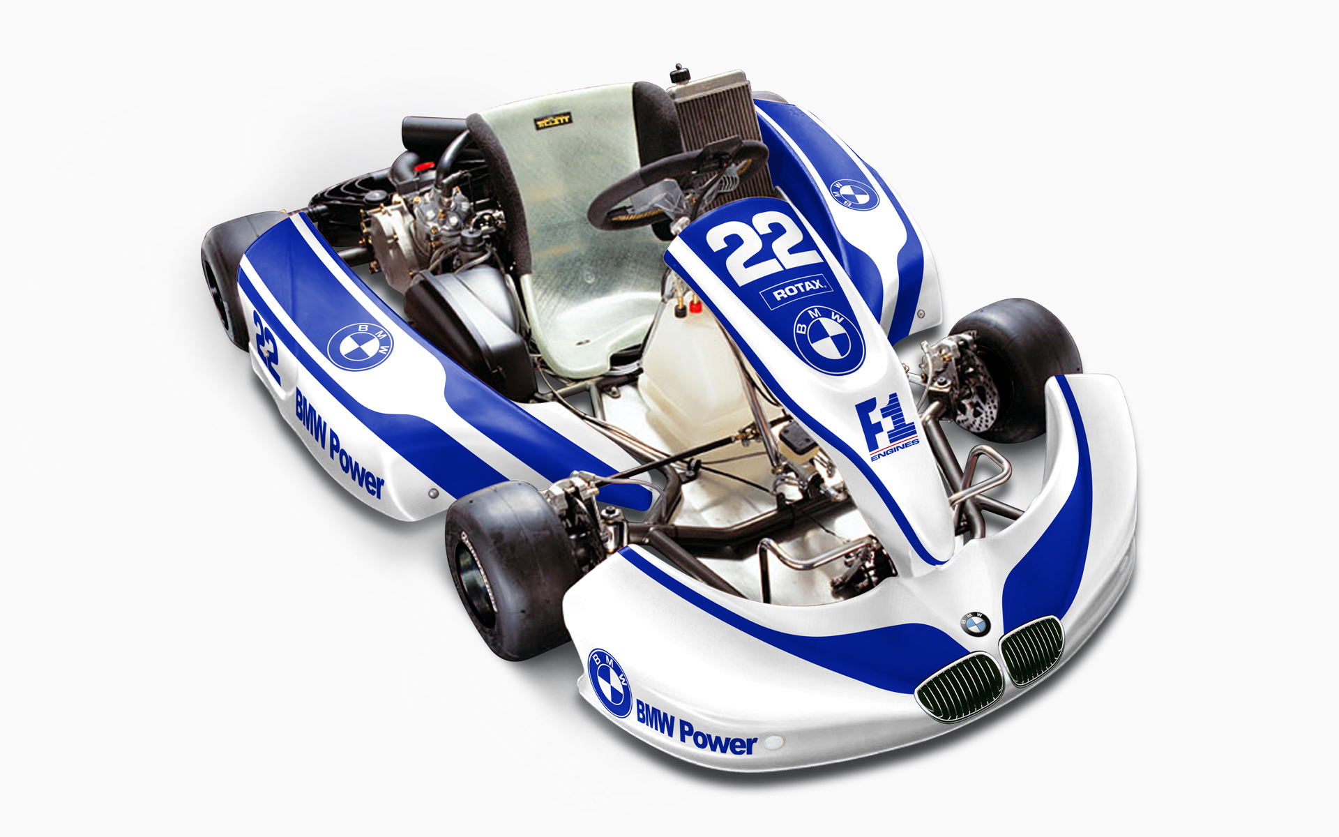 2005 PTG Racing F1-Air Rotax Kart Livery Visualization