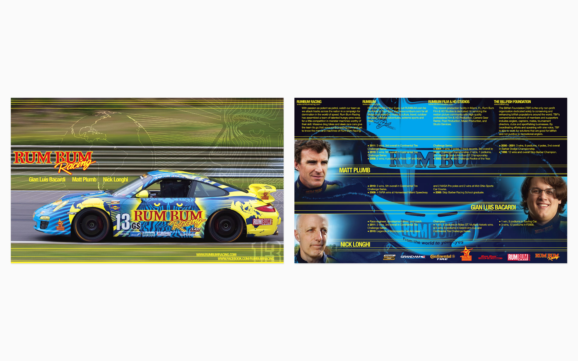 2012 Rum Bum Racing Hero Card
