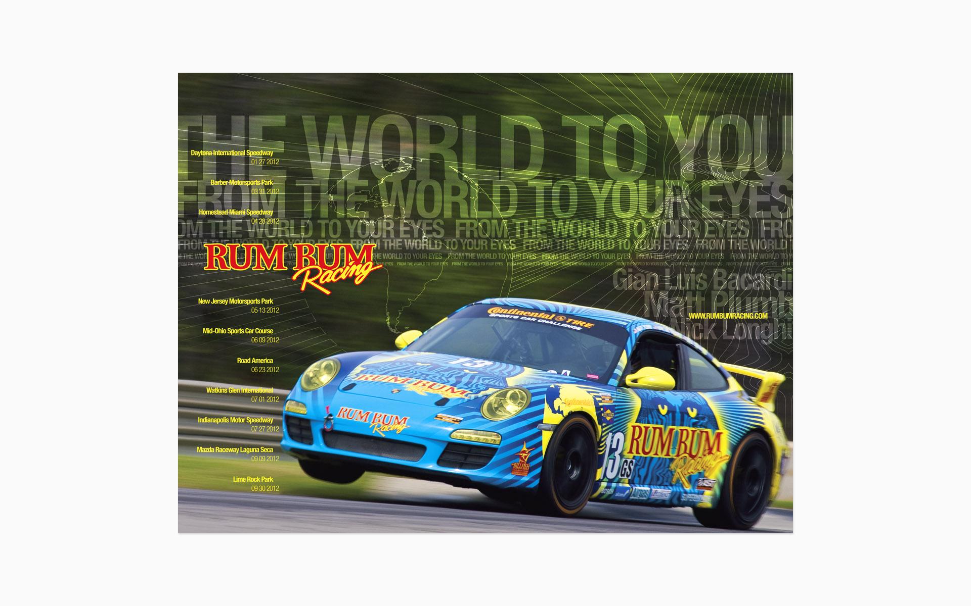 2012 Rum Bum Racing Poster