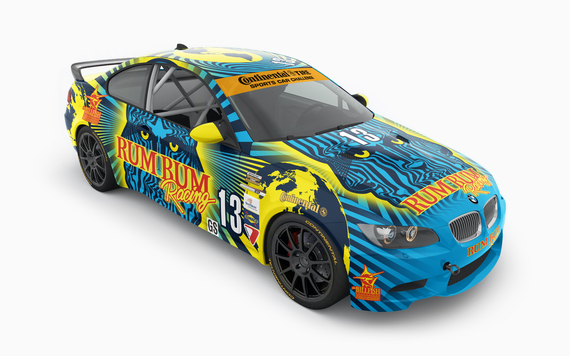 Rum Bum Racing BMW M3 Challenge Livery Elevations