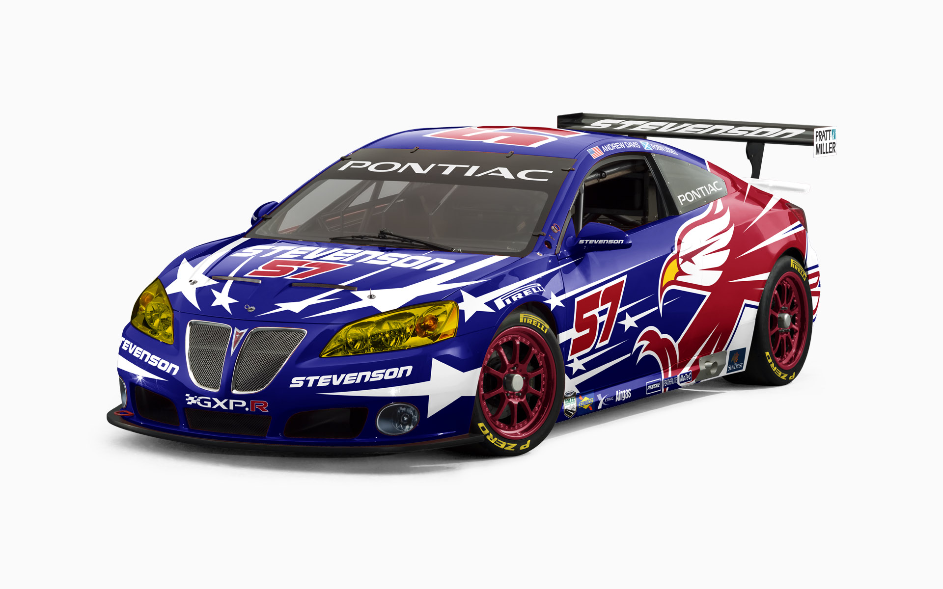 2007 Stevenson Motorsports Pontiac GXPr GT Livery Visualization