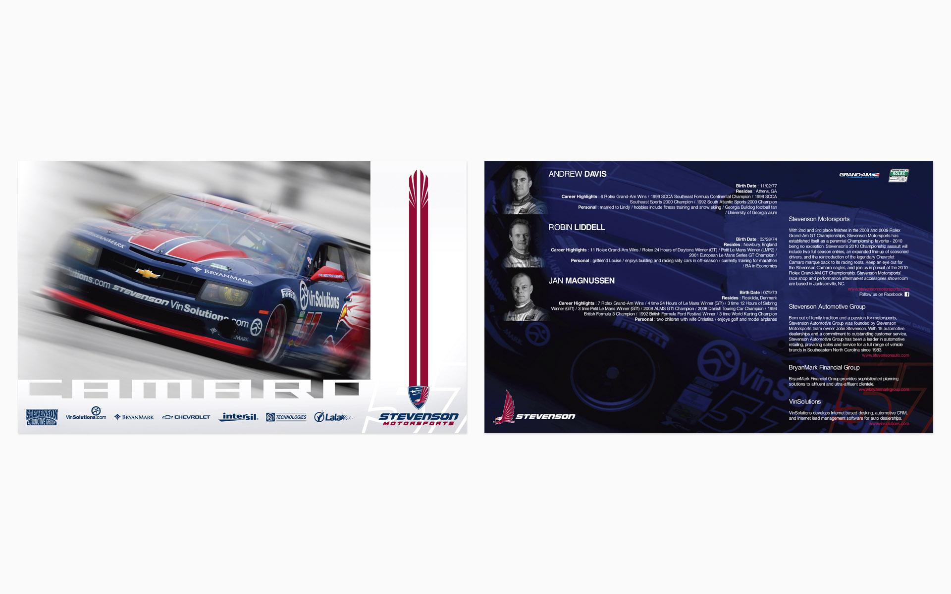 2010 Stevenson Motorsports Hero Card