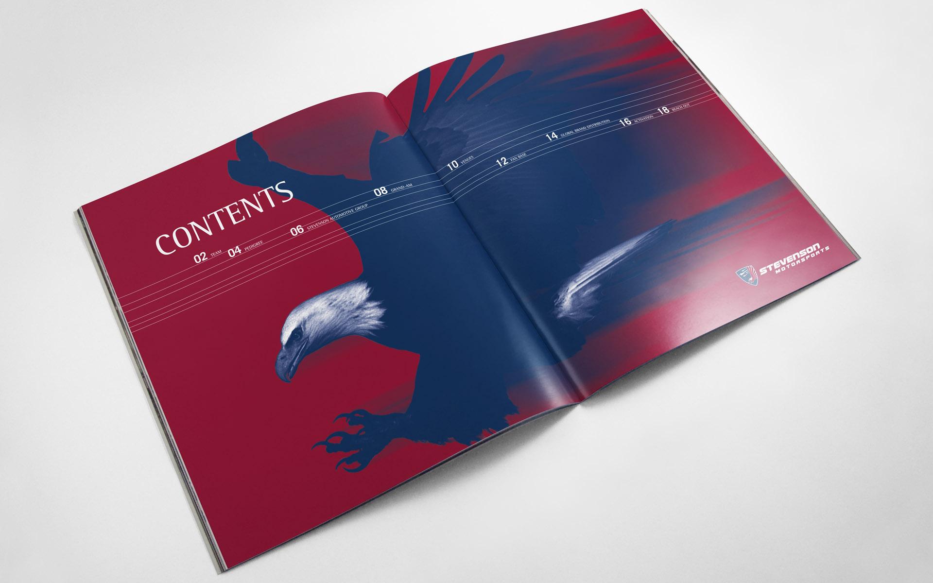 2011 Stevenson Motorsports Sponsor Pitch Book