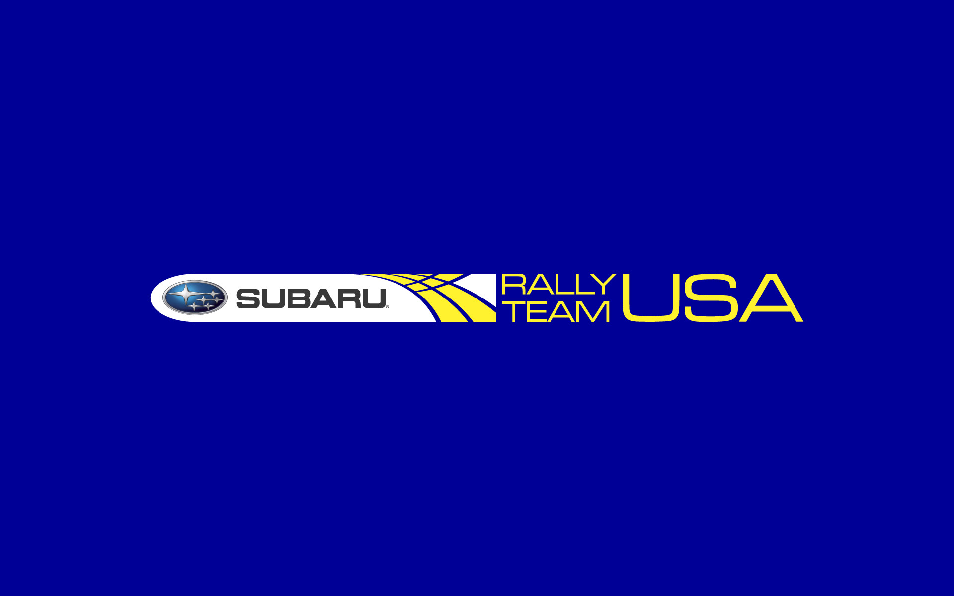 Subaru Rally Team USA Brand Identity