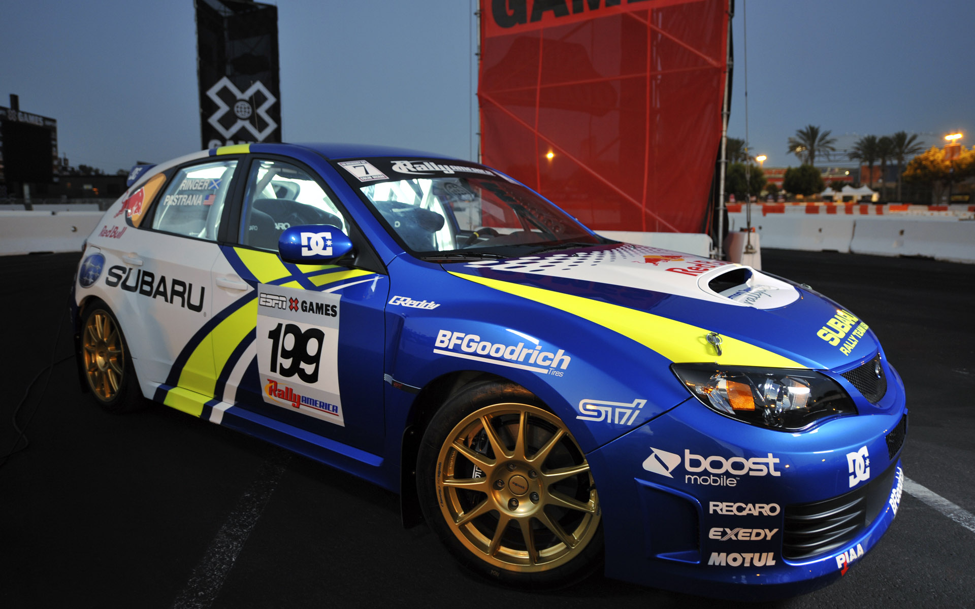 Subaru Rally Team USA WRX STi Rally Livery