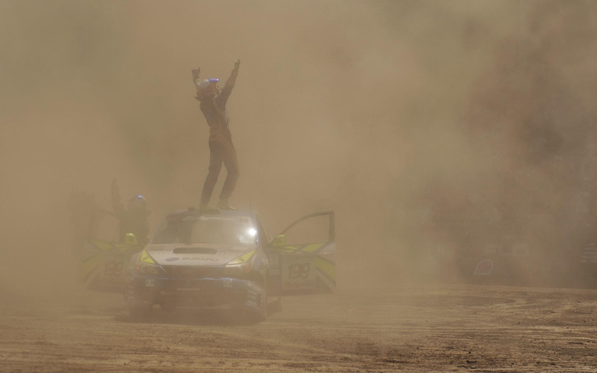 Subaru Rally Team USA WRX STi Rally Livery
