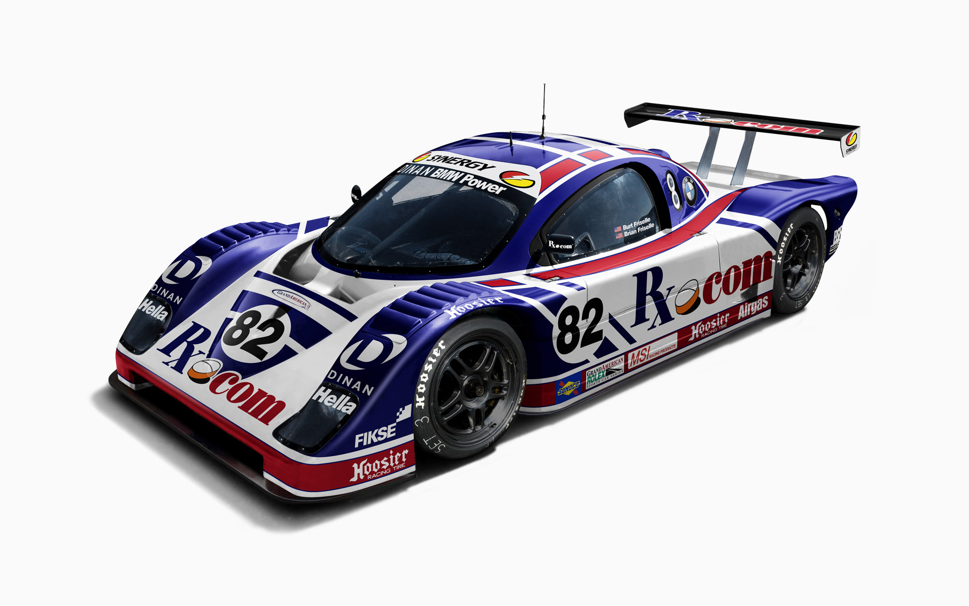 2005 Synergy Racing RX.com Doran Daytona Prototype Livery Visualization