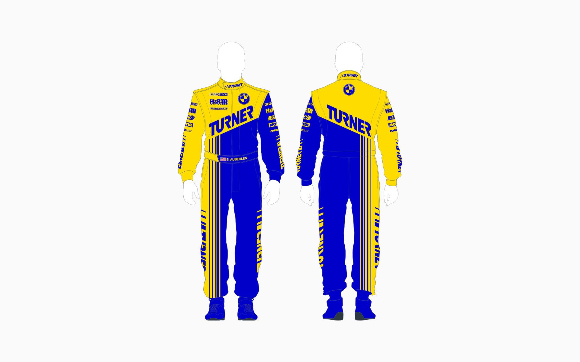 Turner Motorsport Firesuit
