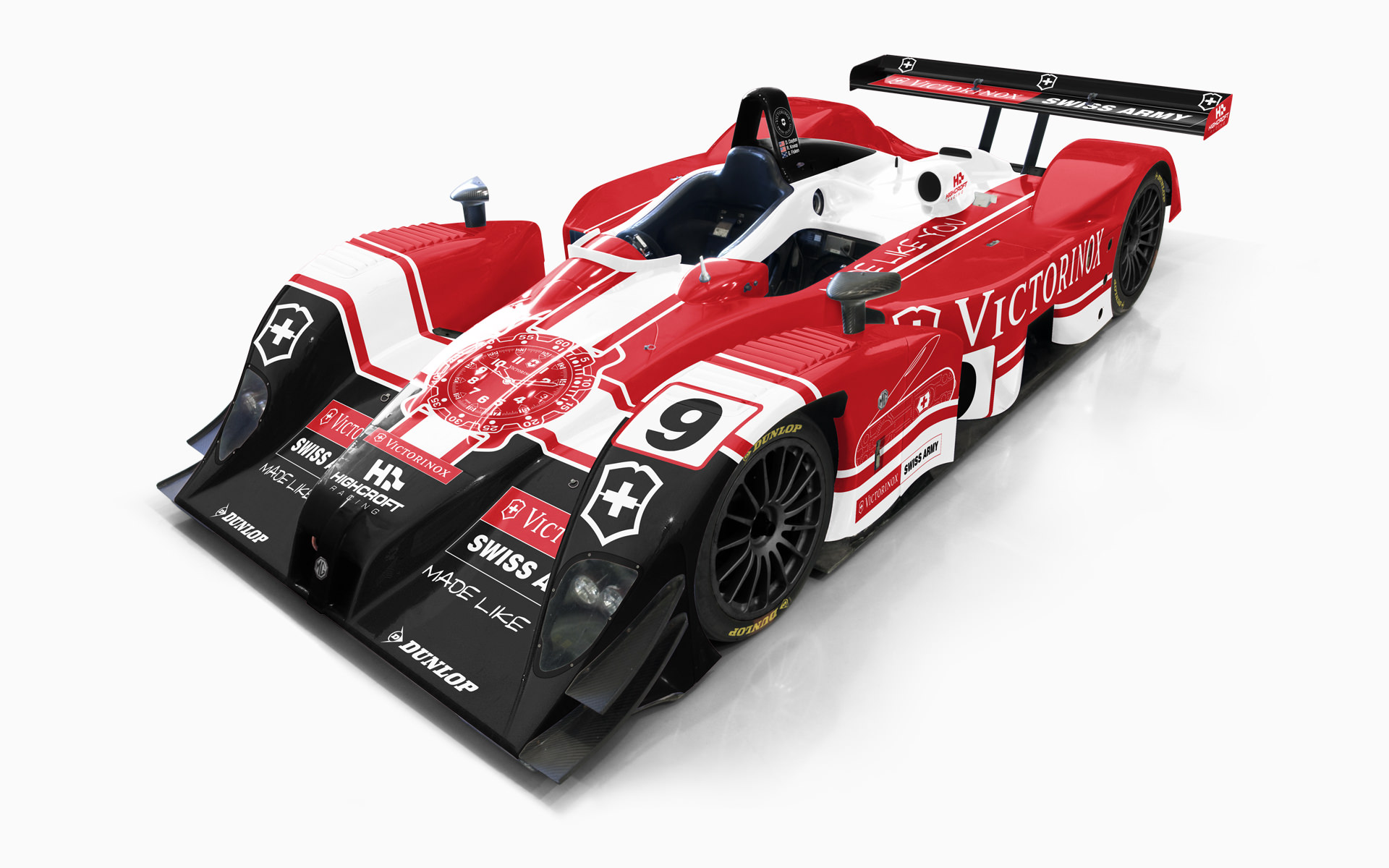 Victorinox Swiss Army Lola EX257 Livery Visualization