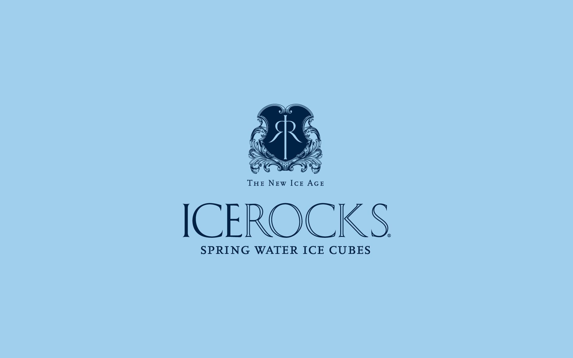WaterBank of America ICEROCKS Brand Identity