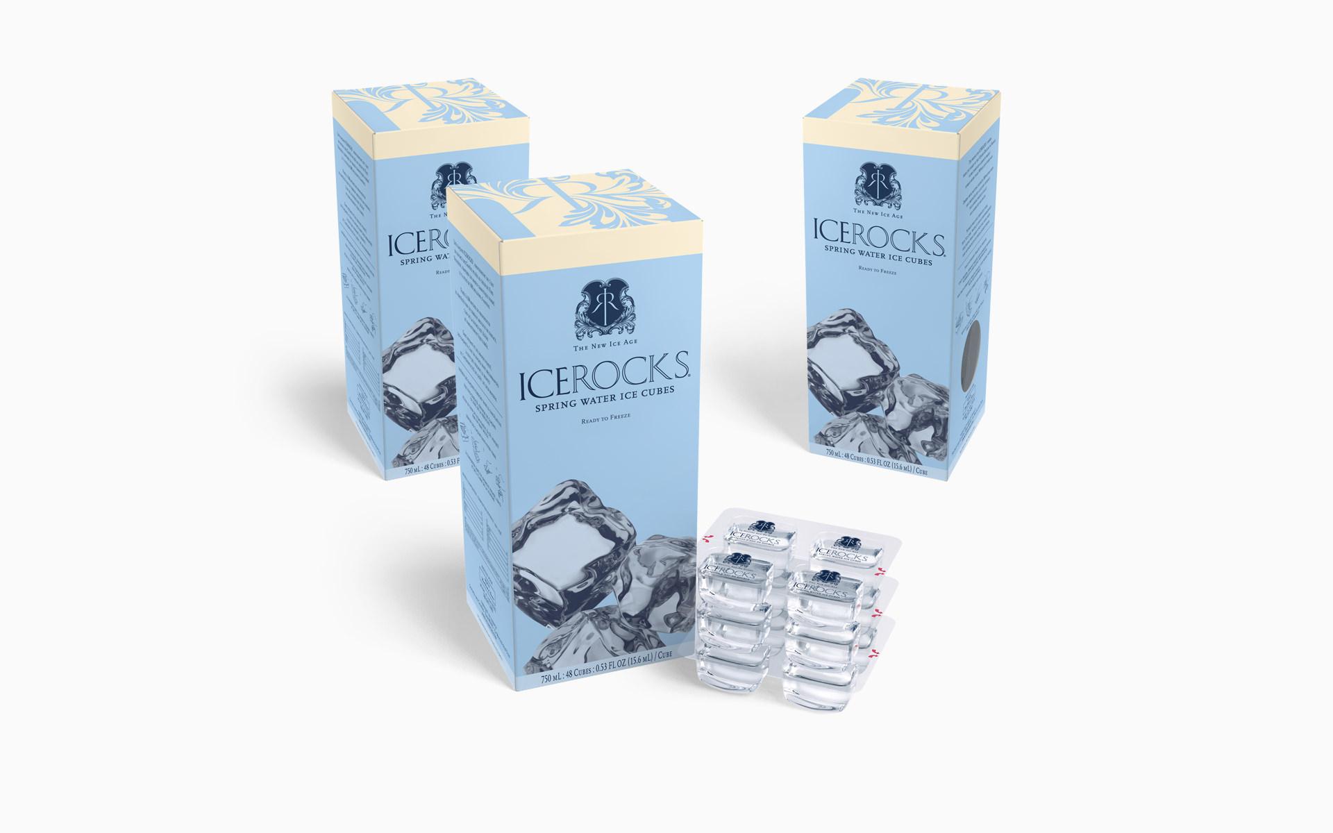 WaterBank of America ICEROCKS Packaging