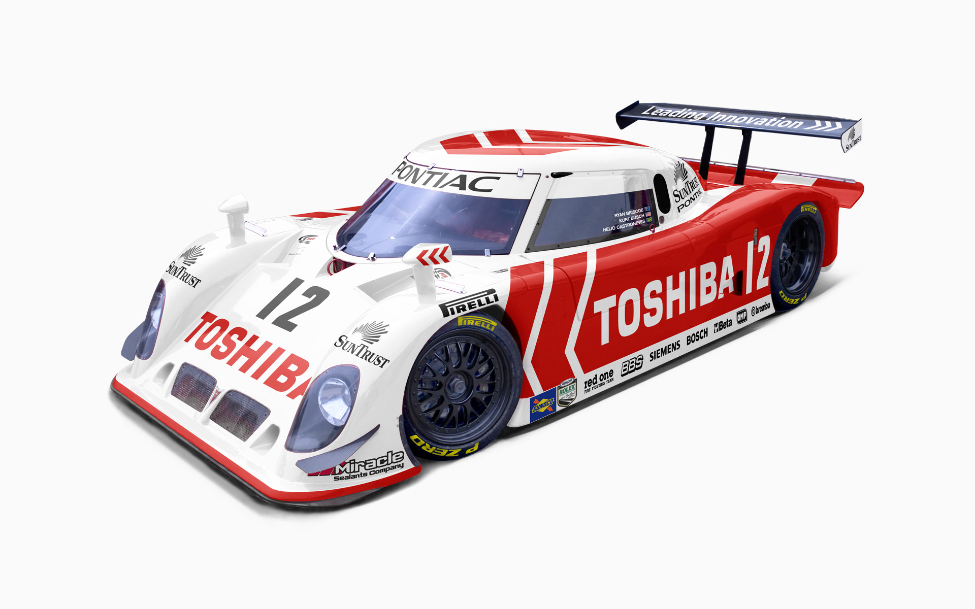 Wayne Taylor Racing Toshiba Riley MKXI Daytona Prototype Livery Visualization